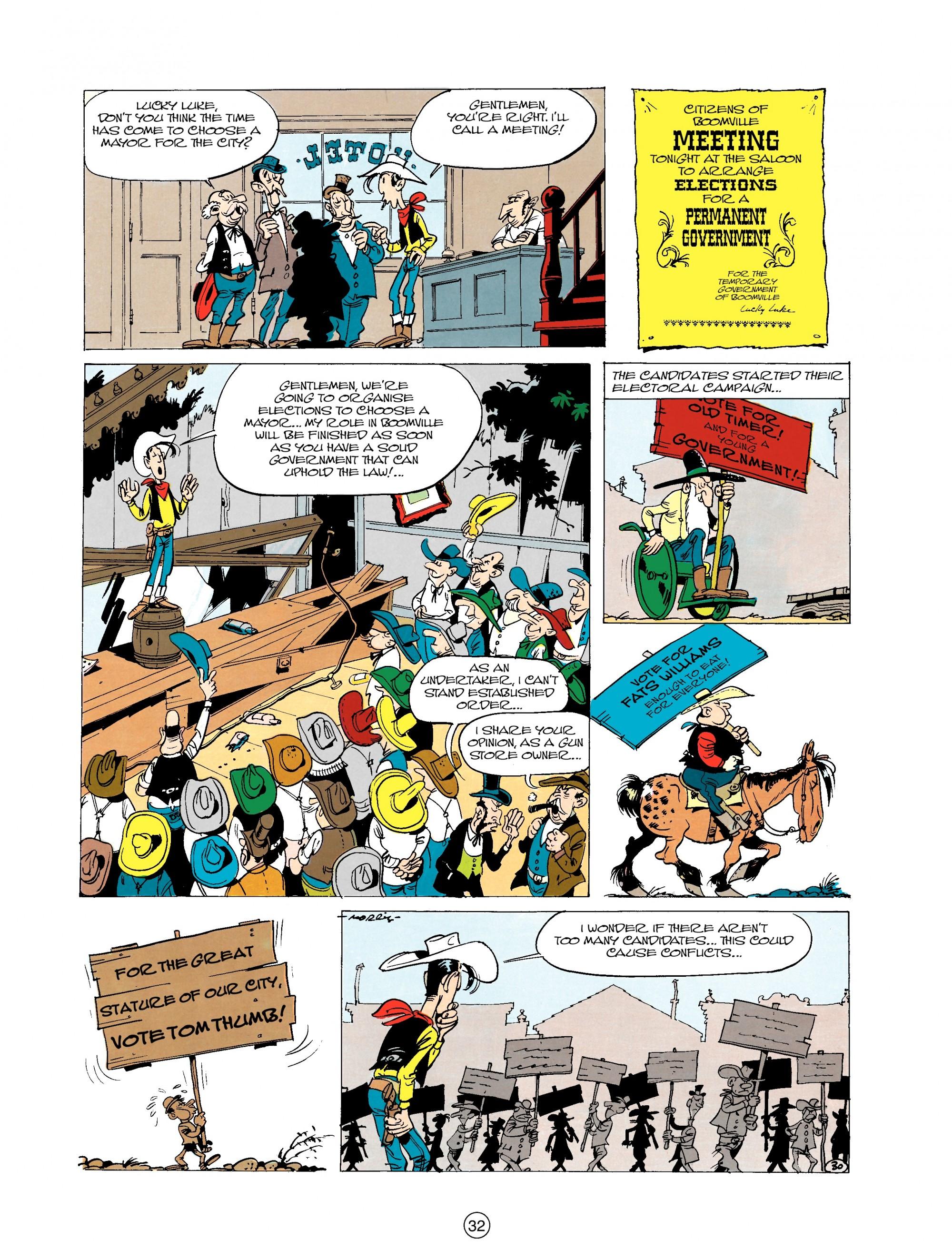 Read online A Lucky Luke Adventure comic -  Issue #20 - 32