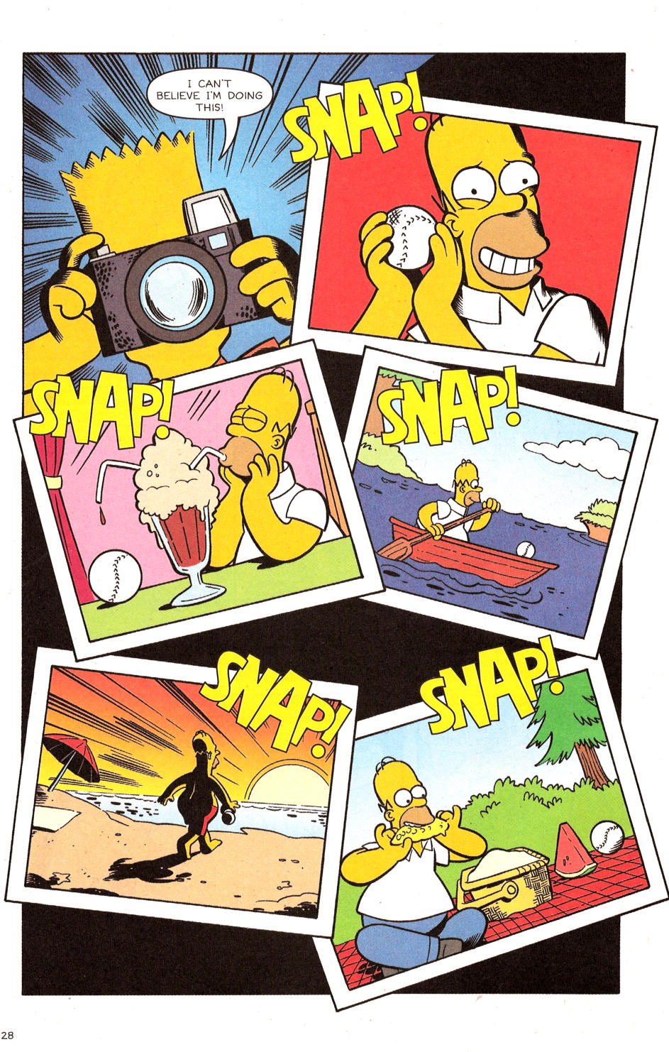 Read online Simpsons Comics comic -  Issue #120 - 23