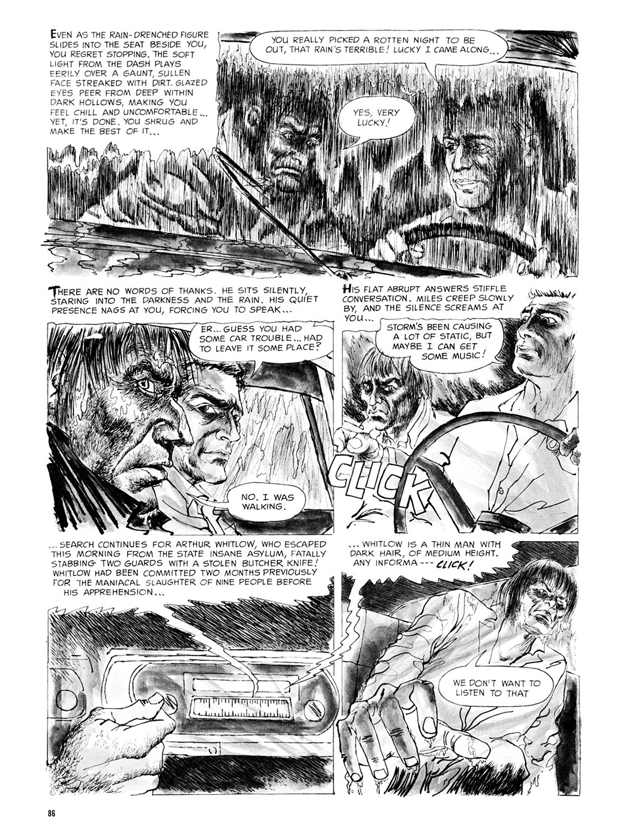 Read online Eerie Archives comic -  Issue # TPB 2 - 87