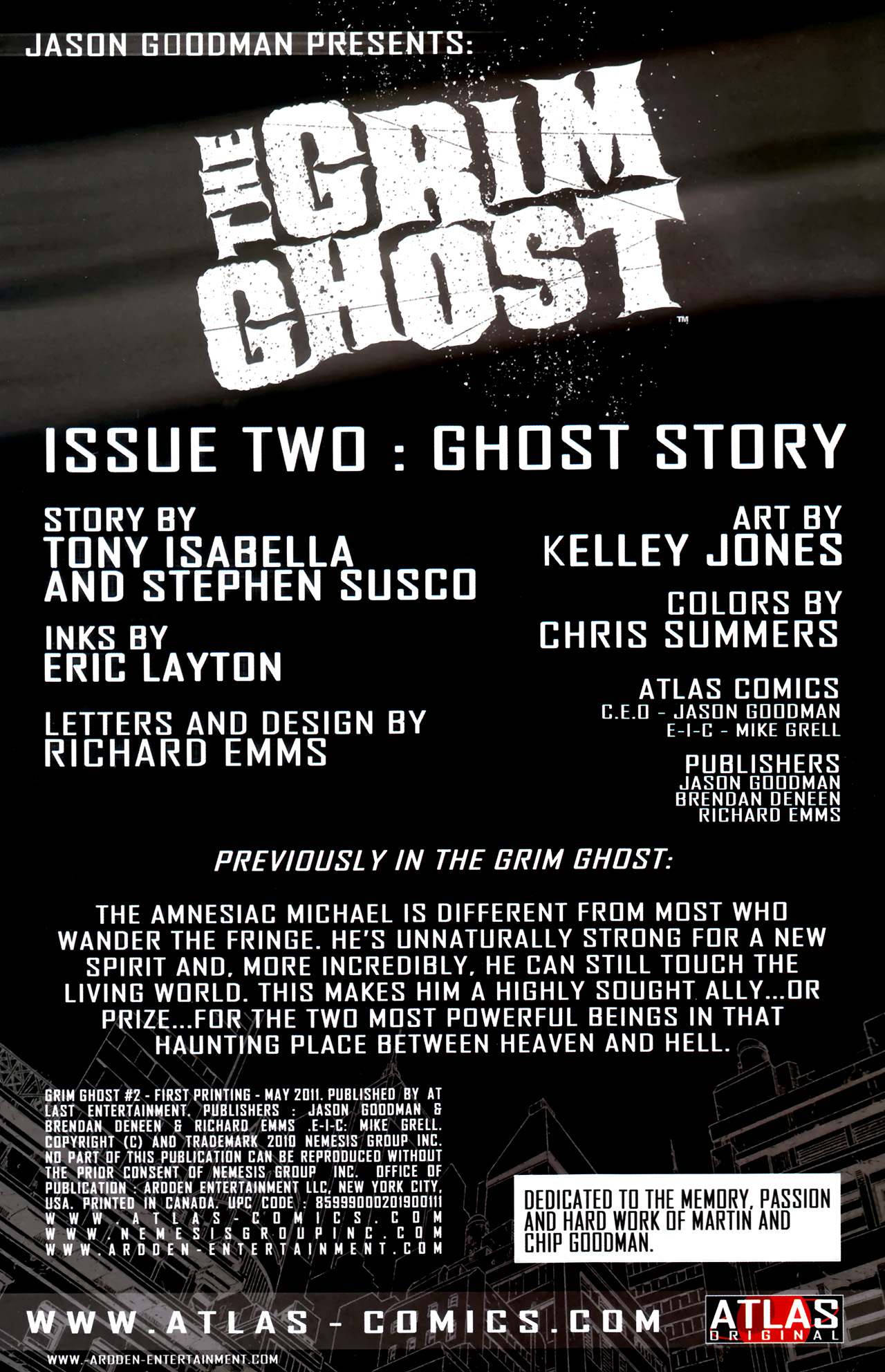 Read online The Grim Ghost comic -  Issue #2 - 2