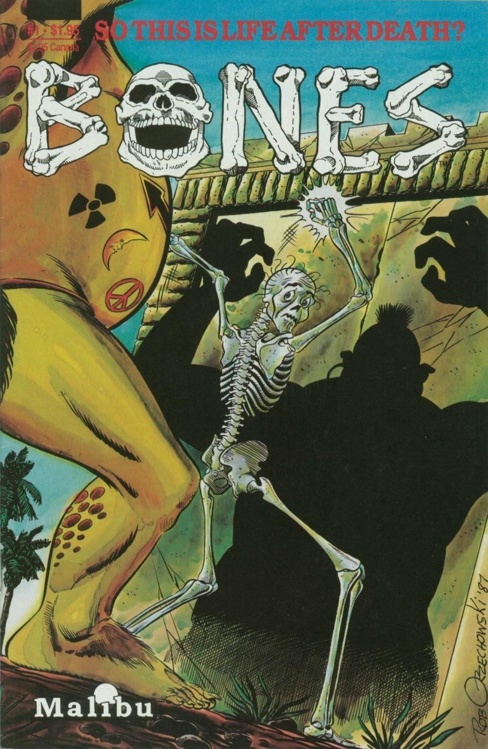 Bones issue 1 - Page 1
