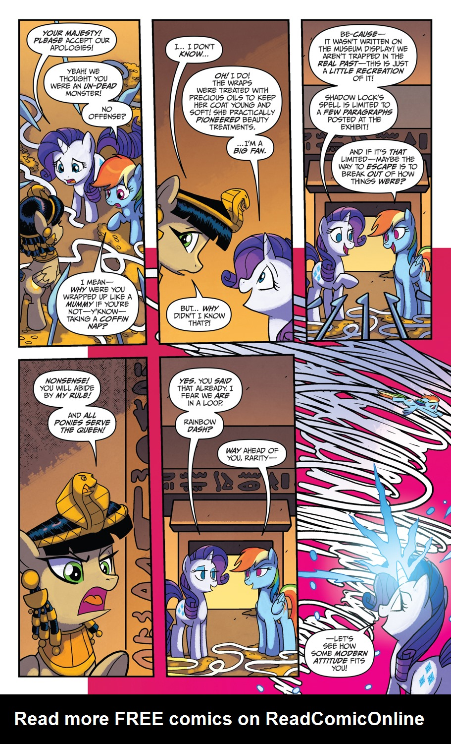 Read online My Little Pony: Friendship is Magic comic -  Issue #53 - 14