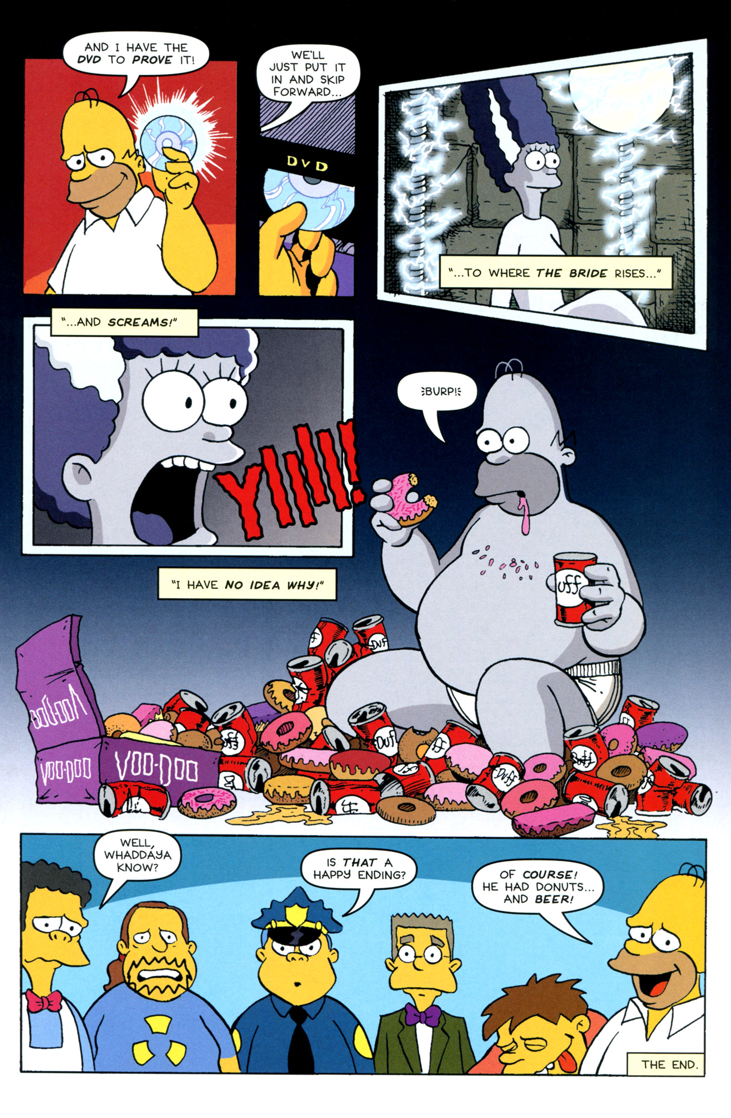 Read online Treehouse of Horror comic -  Issue #18 - 45