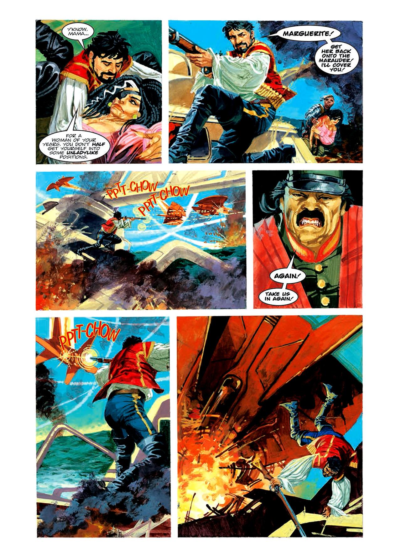 Read online Nikolai Dante comic -  Issue # TPB 6 - 128