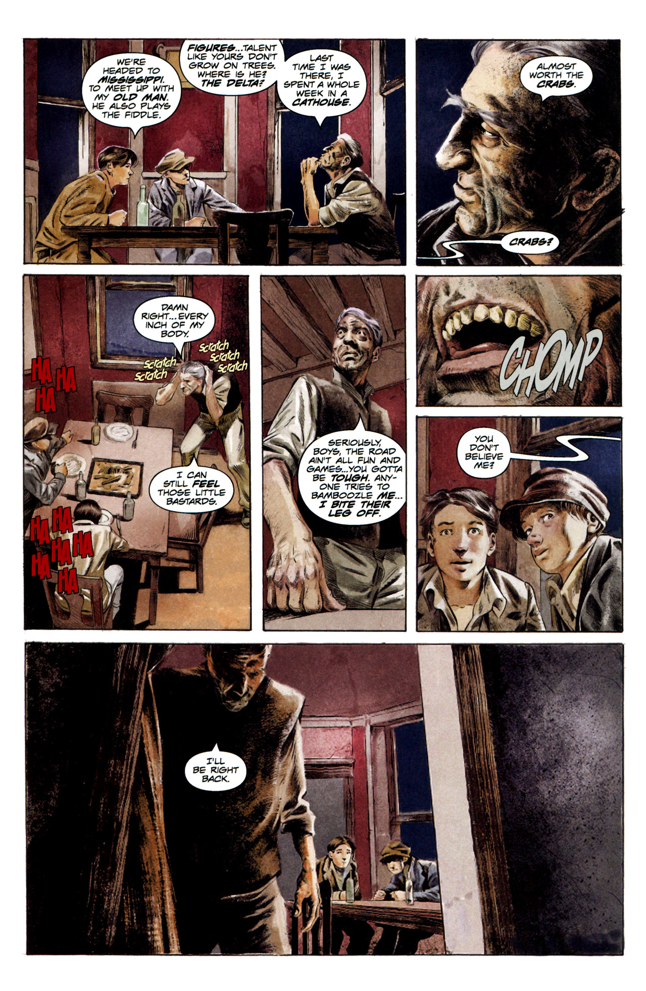 Read online Severed comic -  Issue #3 - 17