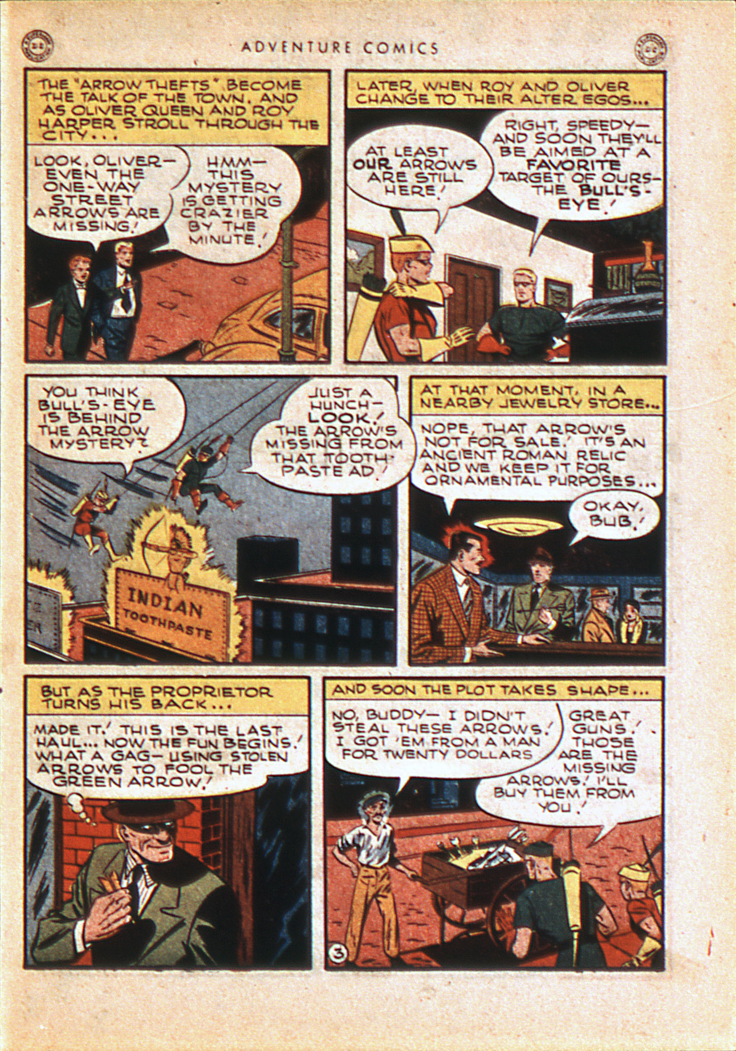 Read online Adventure Comics (1938) comic -  Issue #113 - 46