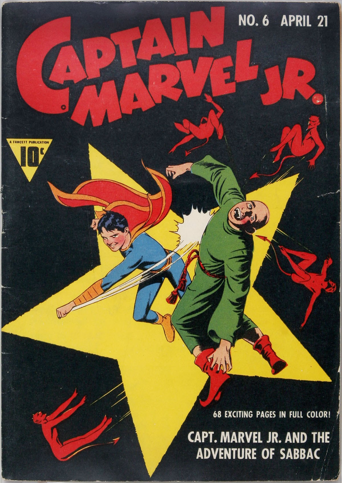 Captain Marvel, Jr. issue 6 - Page 1