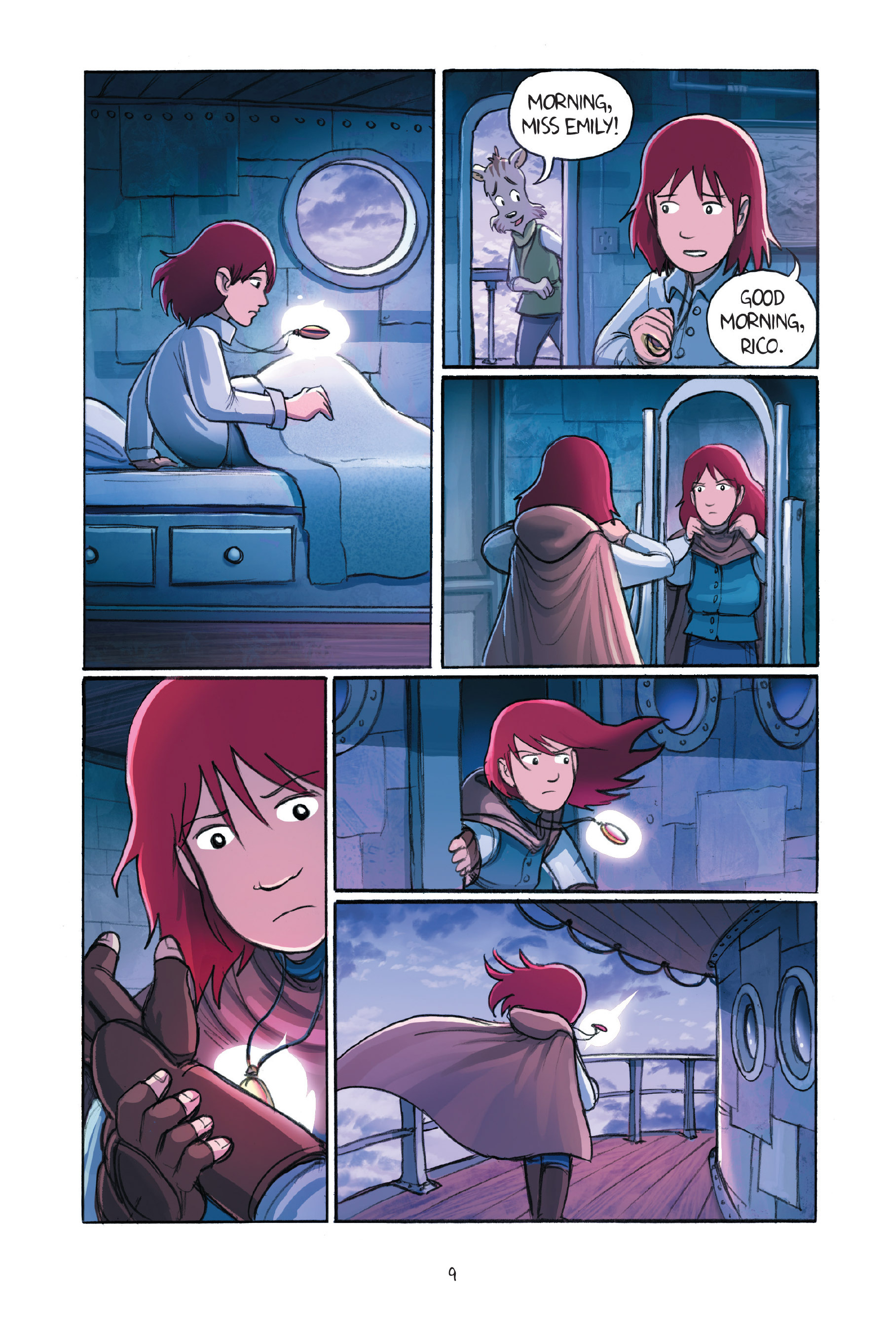 Read online Amulet comic -  Issue #7 - 13