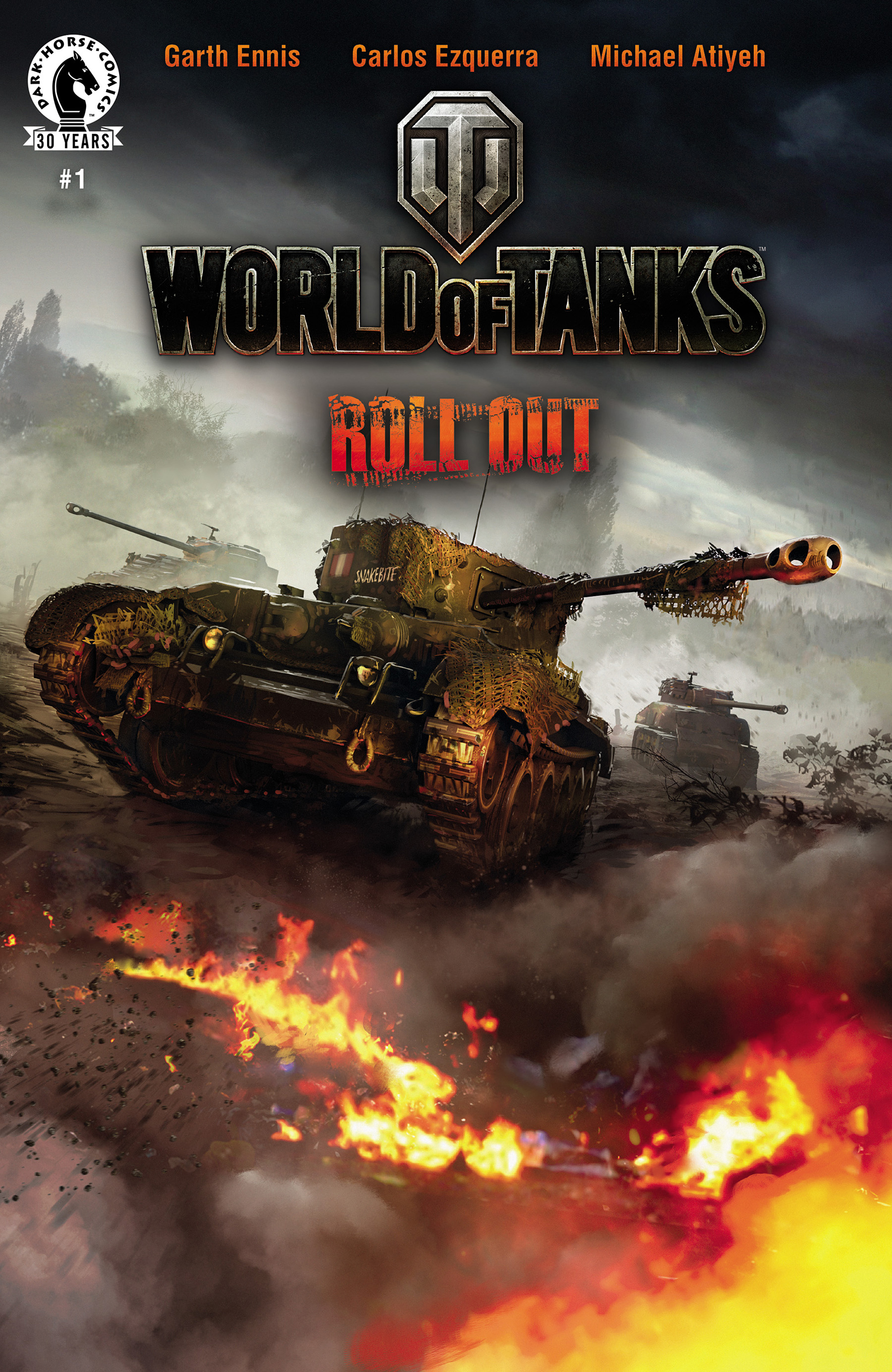 Read online World of Tanks comic -  Issue #1 - 1