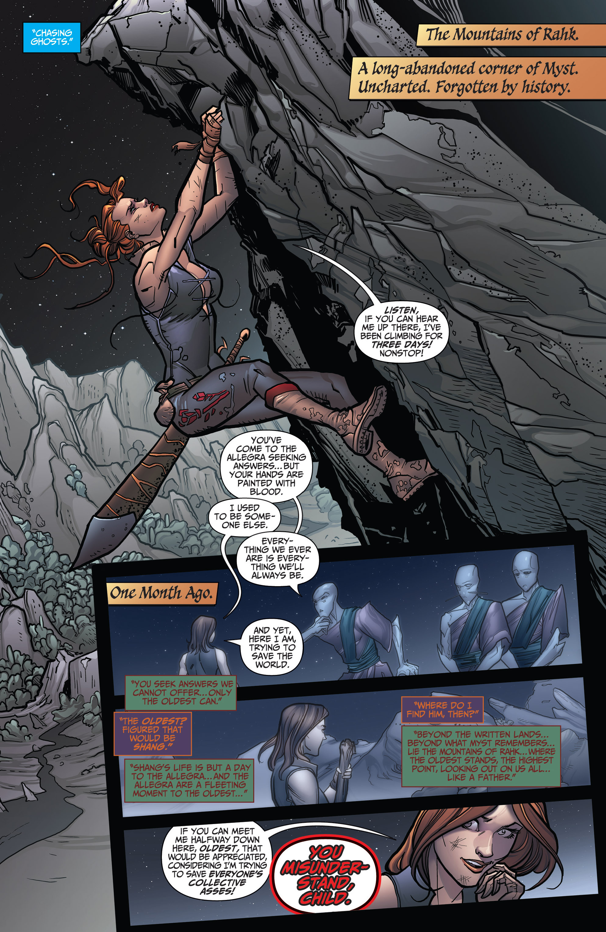 Read online Grimm Fairy Tales: Arcane Acre comic -  Issue # TPB 3 - 125