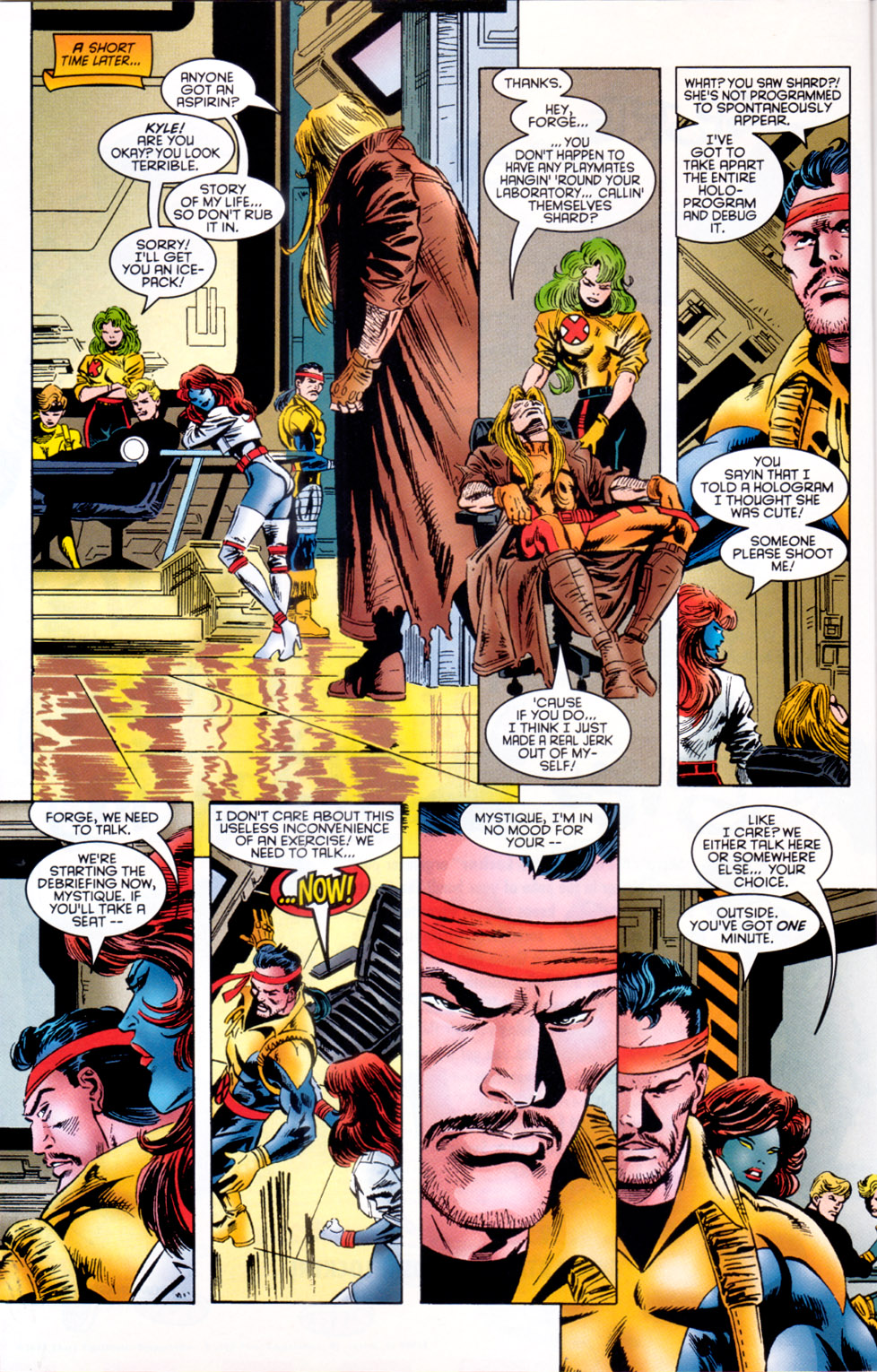 Read online X-Factor (1986) comic -  Issue #117 - 12