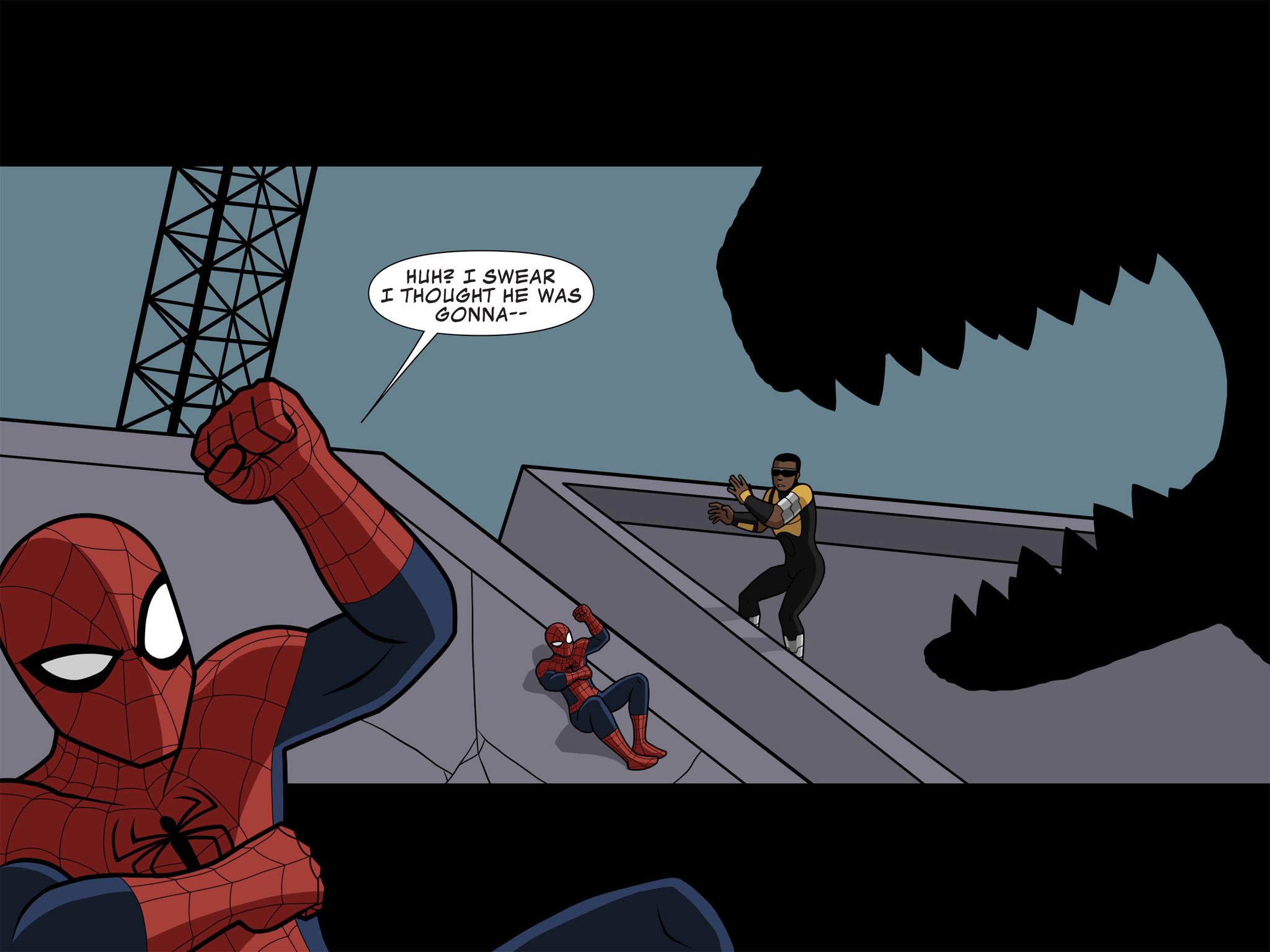 Read online Ultimate Spider-Man (Infinite Comics) (2015) comic -  Issue #10 - 42