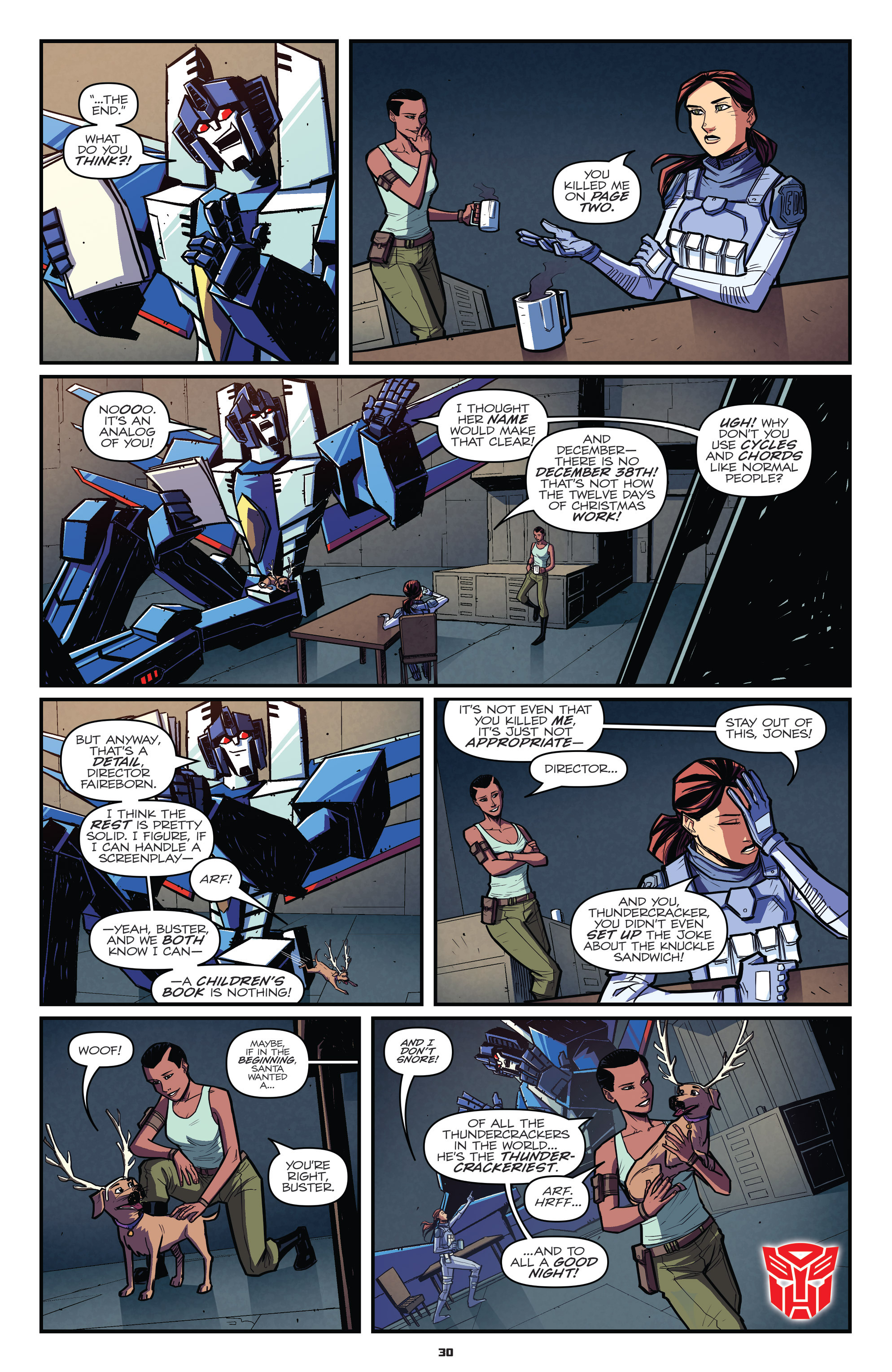 Read online Transformers: Holiday Special comic -  Issue # Full - 32