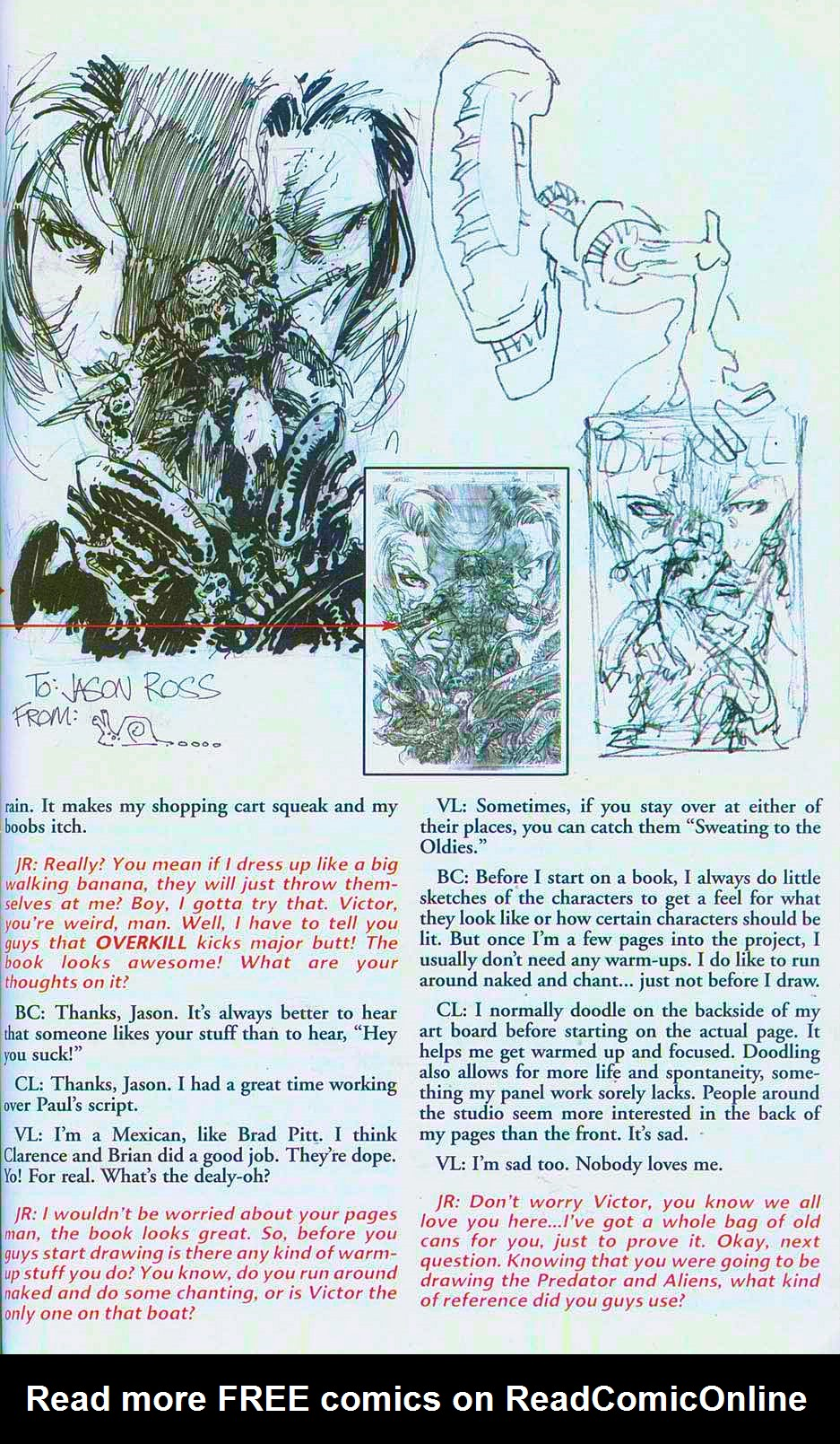 Read online Overkill: Witchblade/Aliens/Darkness/Predator comic -  Issue #2 - 40