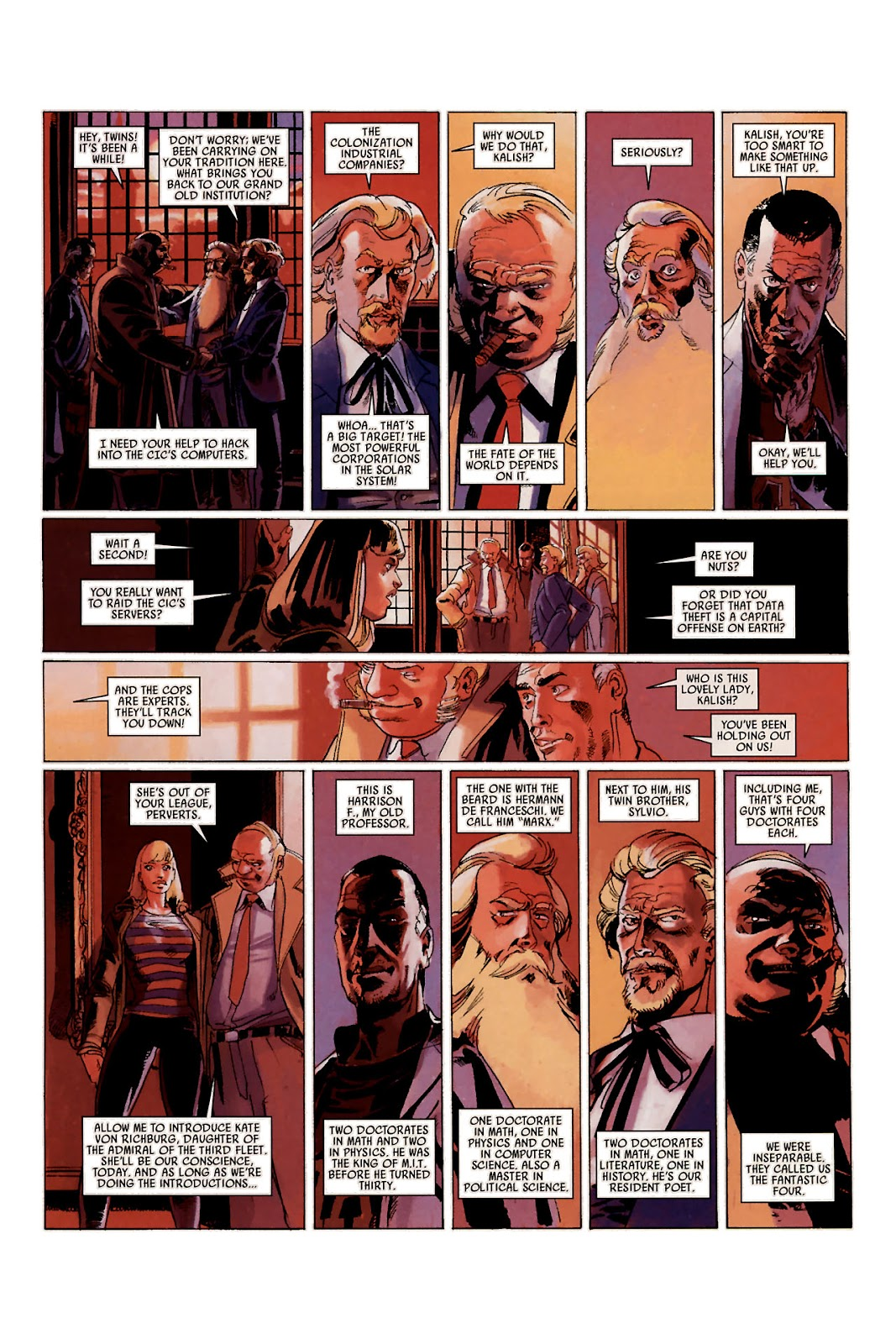 Read online Universal War One: Revelations comic -  Issue #1 - 26
