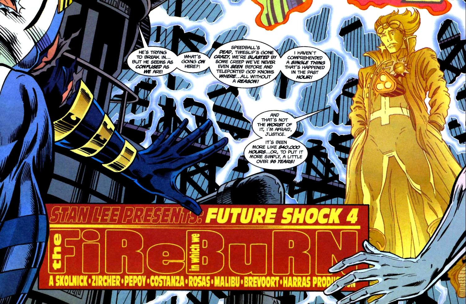 The New Warriors Issue #71 #75 - English 4