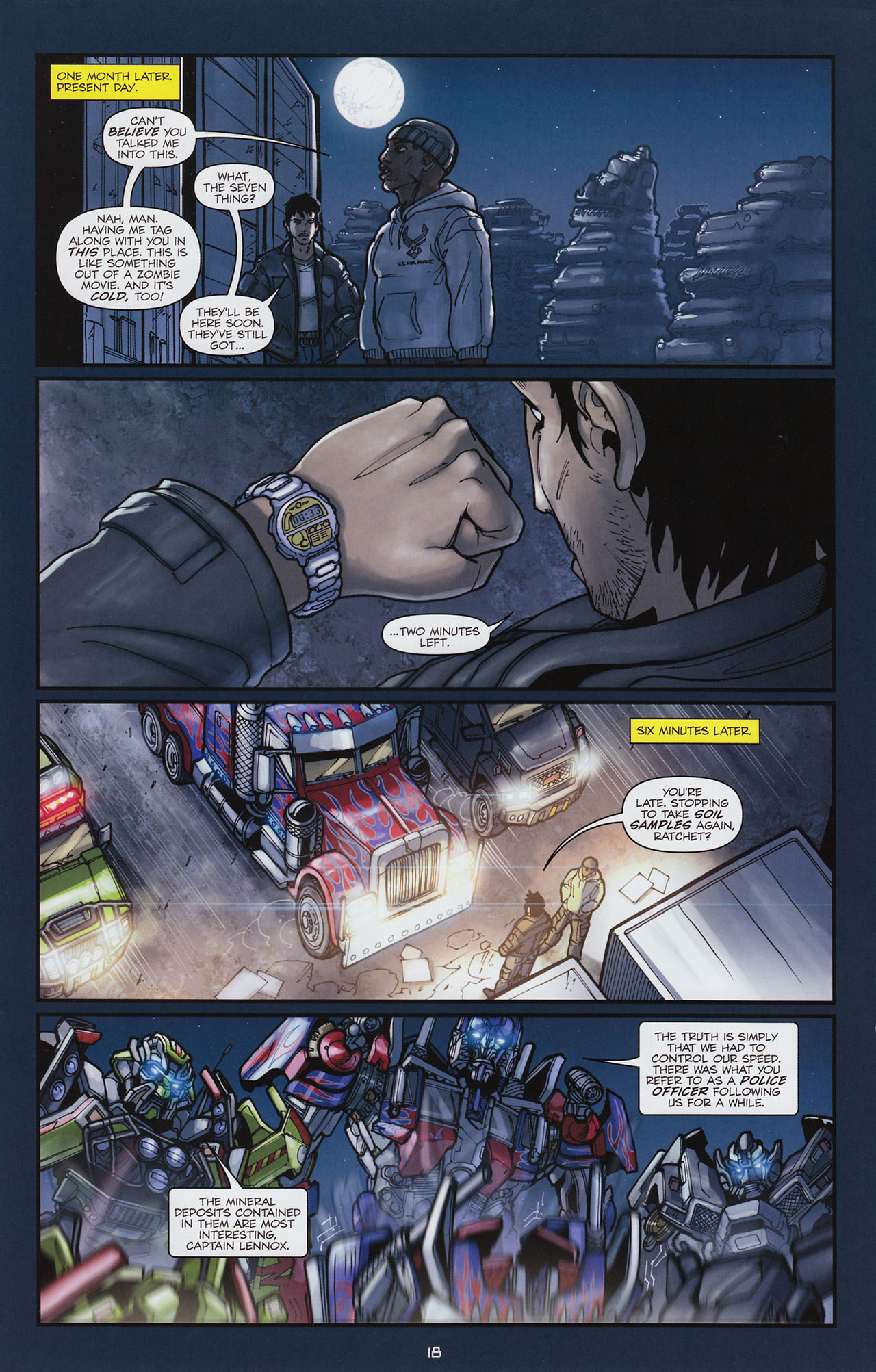 Read online Transformers: Alliance comic -  Issue #1 - 21