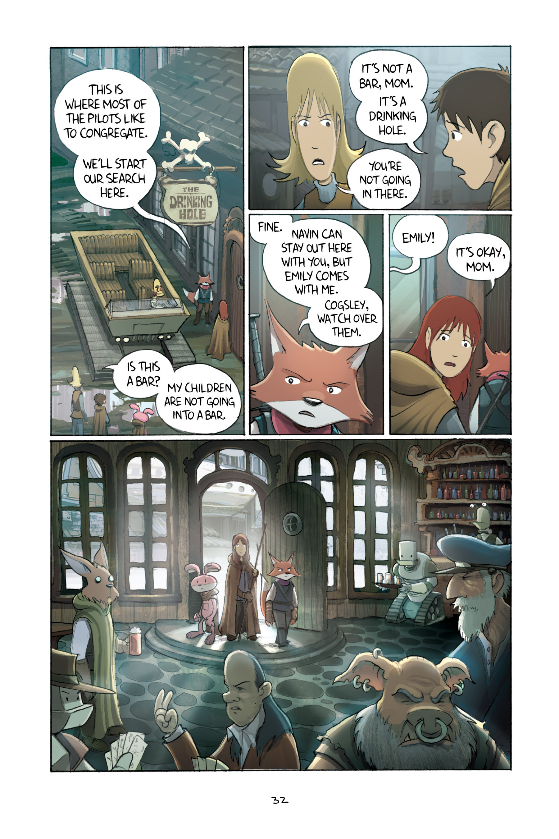 Read online Amulet comic -  Issue #3 - 31