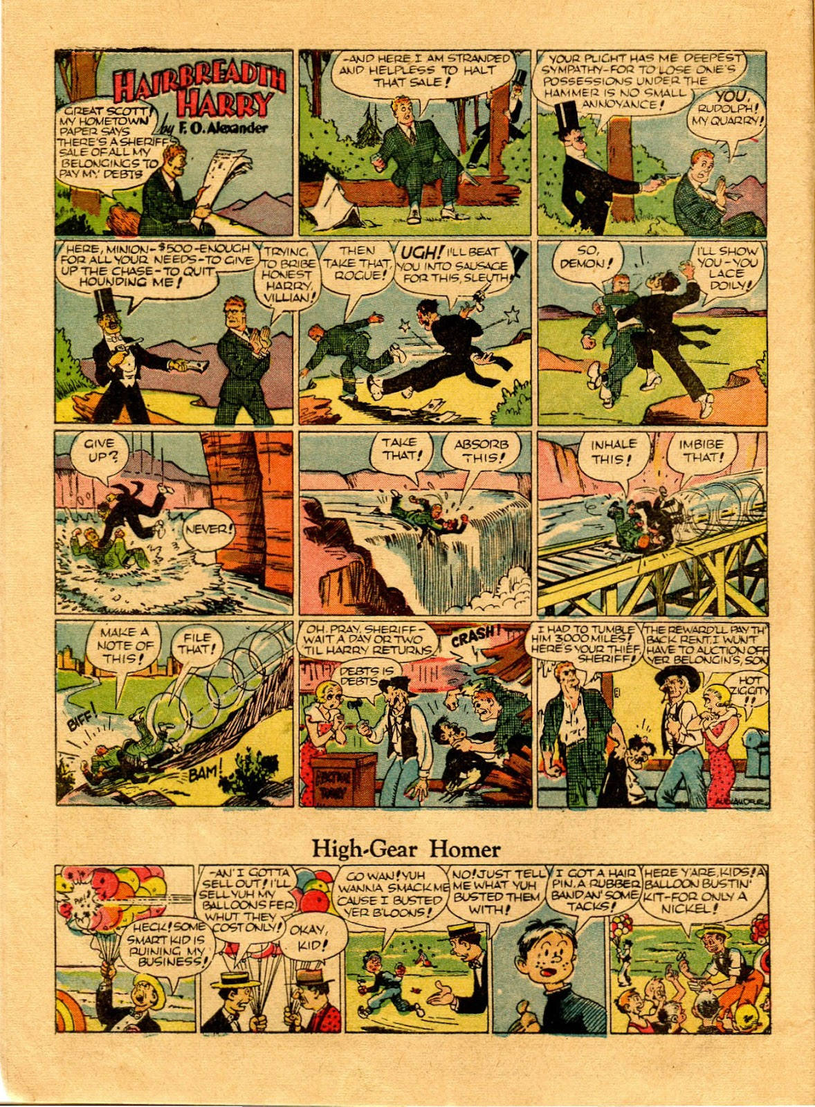 Read online Famous Funnies comic -  Issue #67 - 16