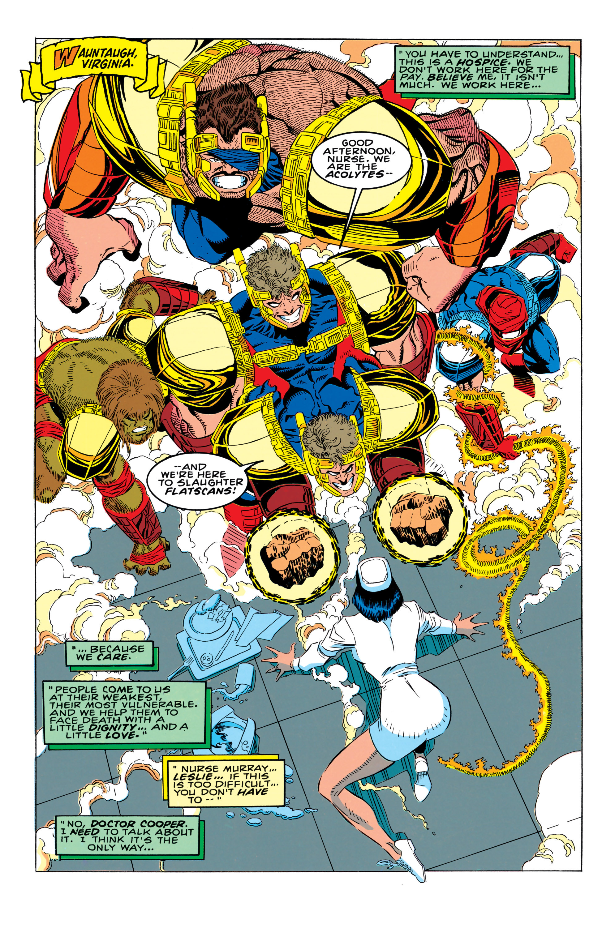 Read online X-Factor (1986) comic -  Issue #92 - 2