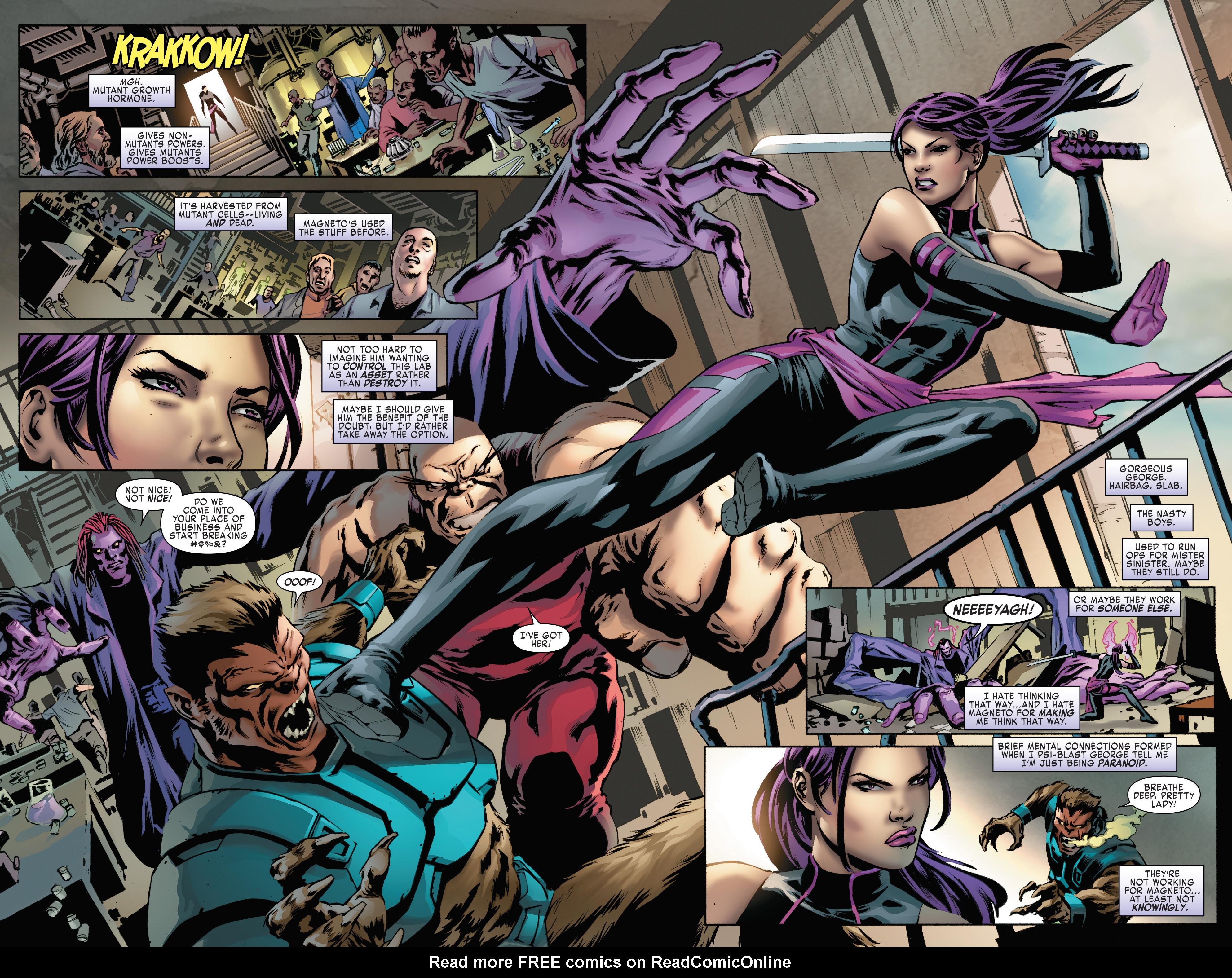 Read online Uncanny X-Men (2016) comic -  Issue #15 - 10