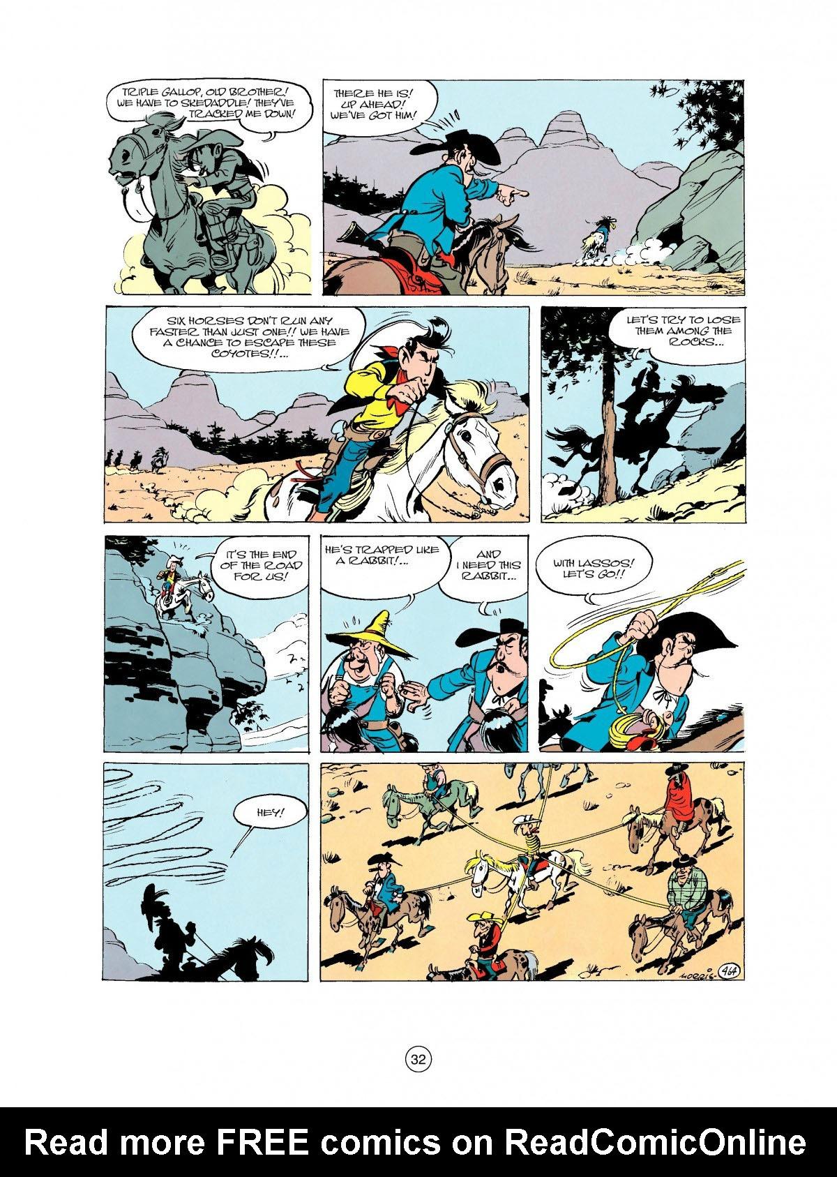 Read online A Lucky Luke Adventure comic -  Issue #27 - 33