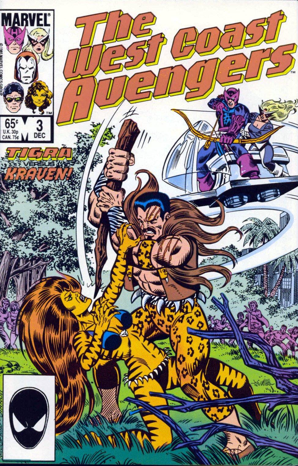 West Coast Avengers (1985) 3 Page 1