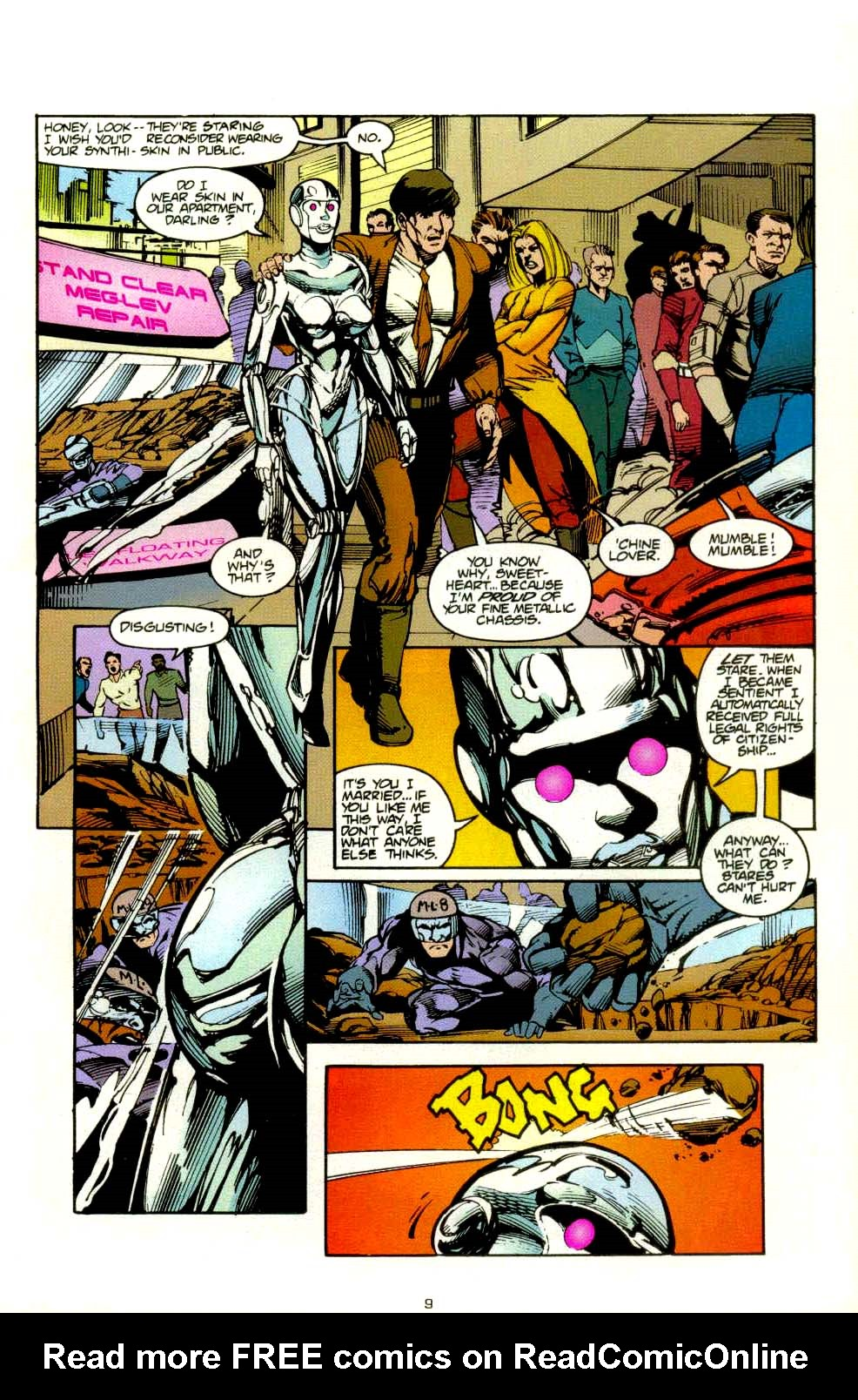 Read online 2099 Unlimited comic -  Issue #8 - 9