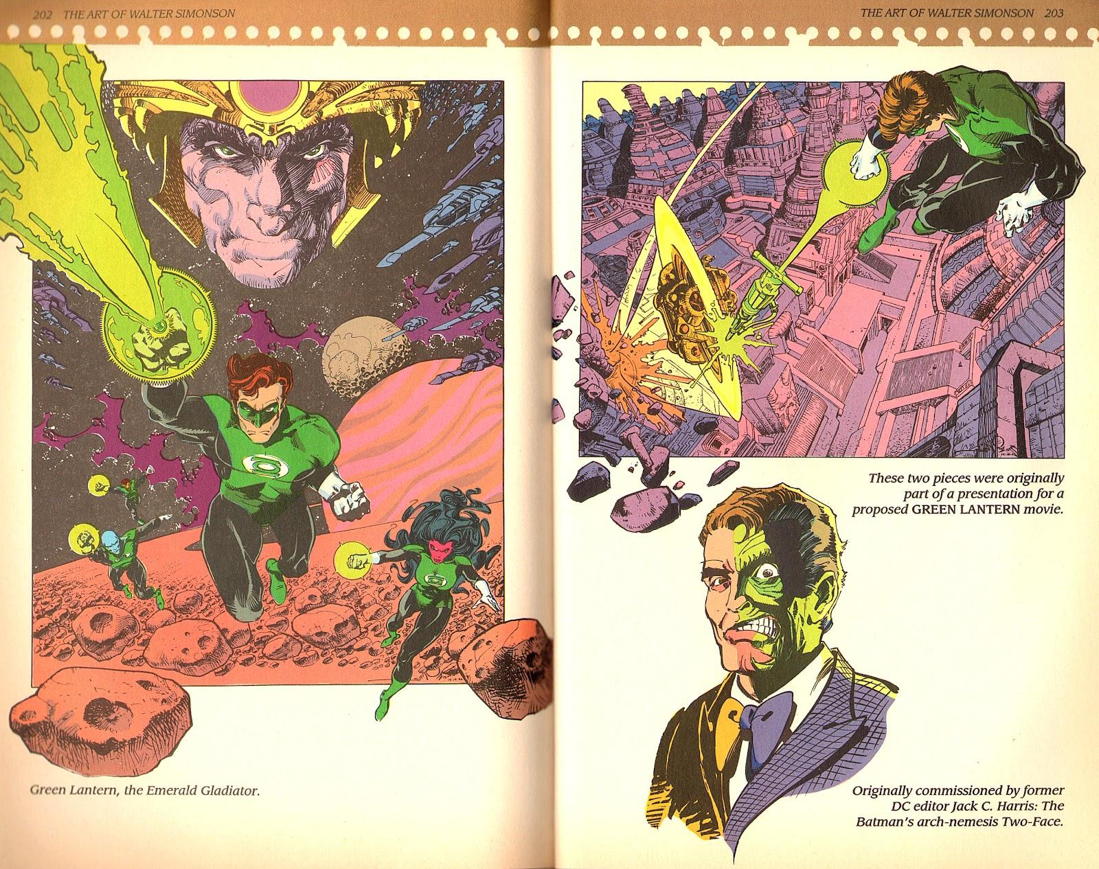 Read online The Art of Walter Simonson comic -  Issue # TPB - 103