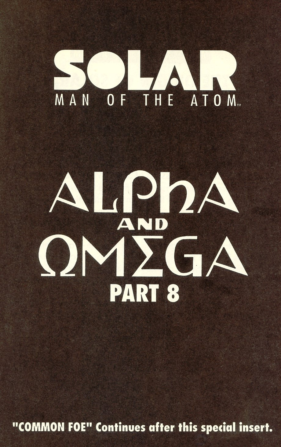 Read online Solar, Man of the Atom comic -  Issue #8 - 17