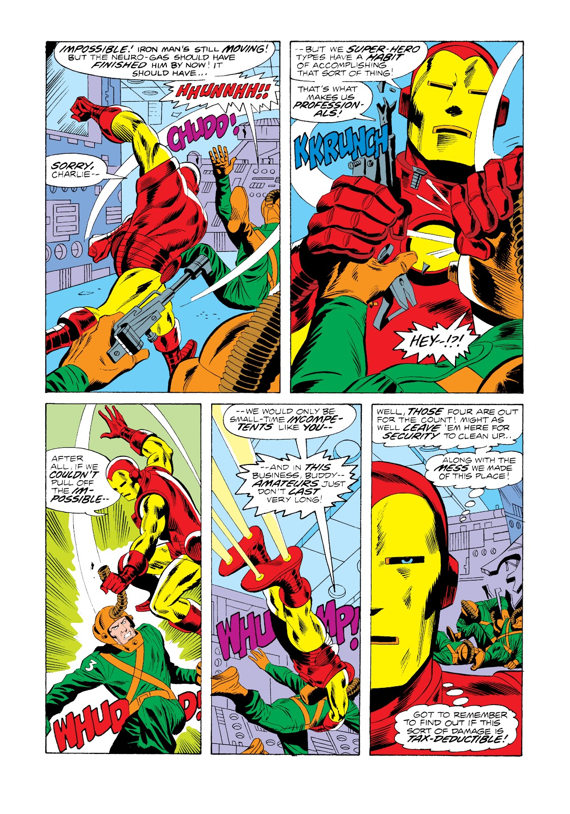 Read online Marvel Masterworks: The Invincible Iron Man comic -  Issue # TPB 11 (Part 1) - 12