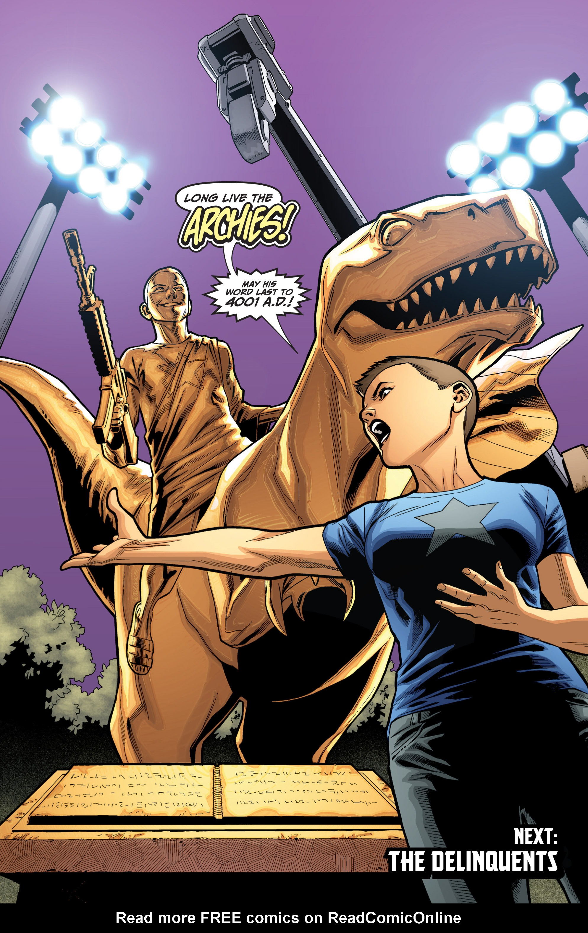 Read online Archer and Armstrong comic -  Issue #Archer and Armstrong _TPB 6 - 107