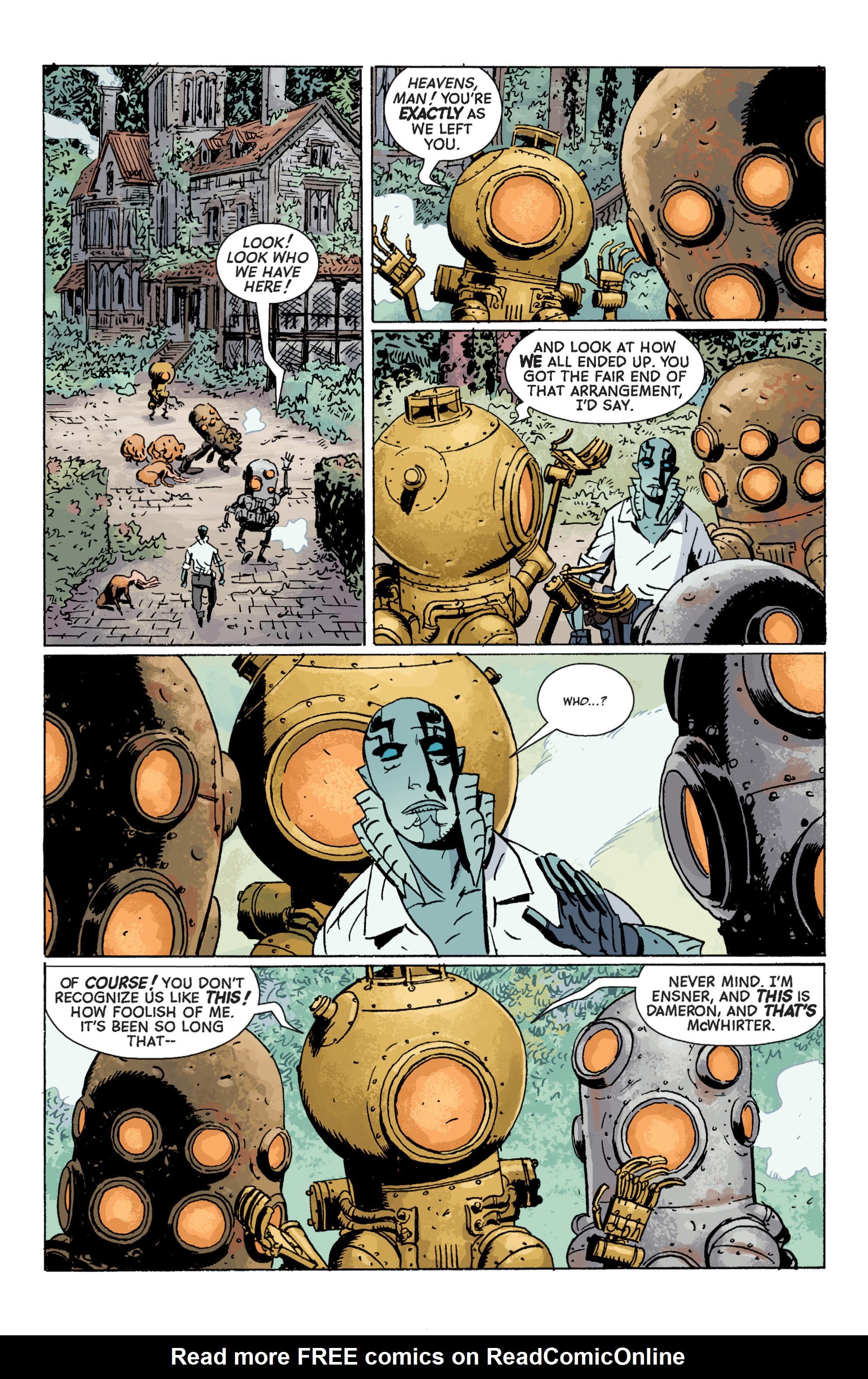 Read online B.P.R.D. (2003) comic -  Issue # TPB 7 - 71