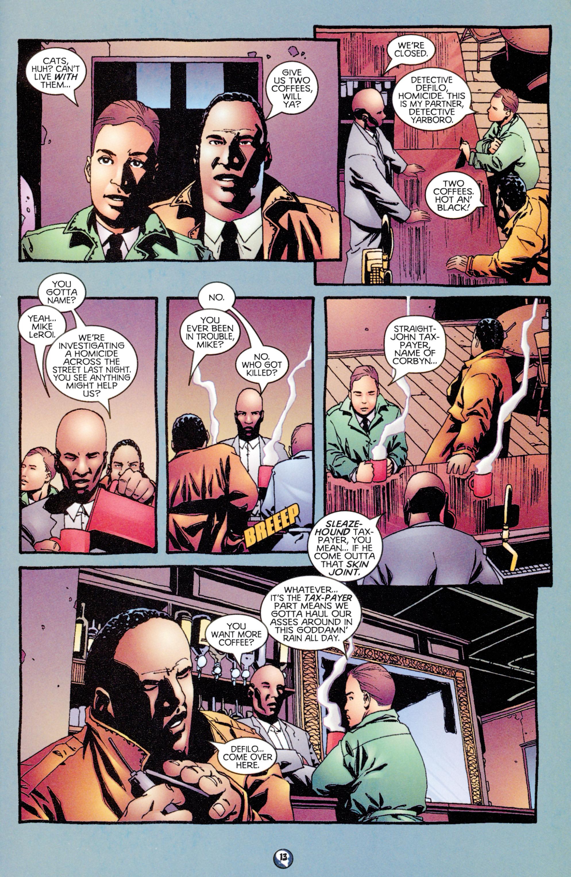 Read online Shadowman (1997) comic -  Issue #9 - 11