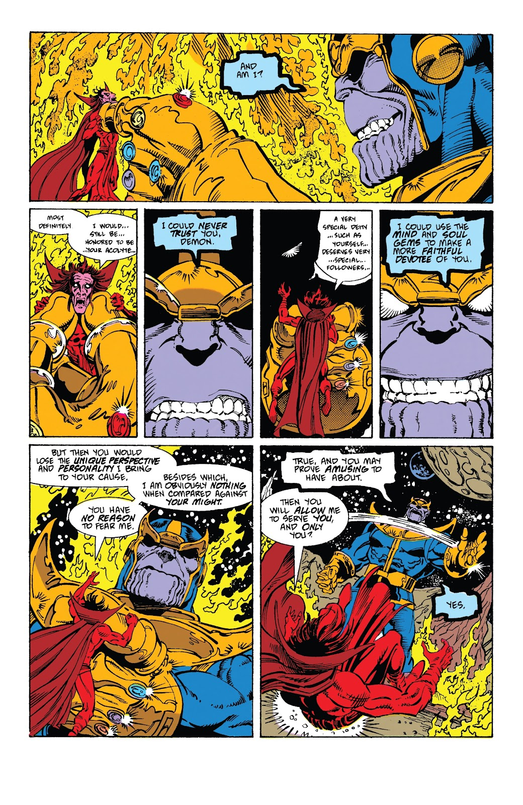 Read online Marvel Tales: Thanos comic -  Issue # Full - 46
