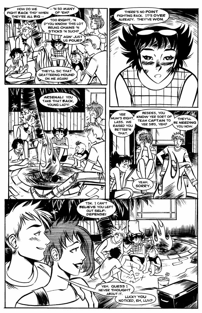 Read online Hopeless Savages comic -  Issue #4 - 8