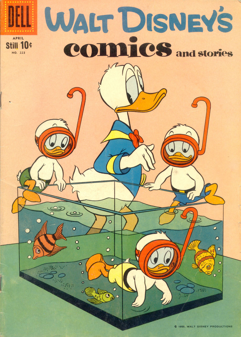 Walt Disney's Comics and Stories issue 223 - Page 1