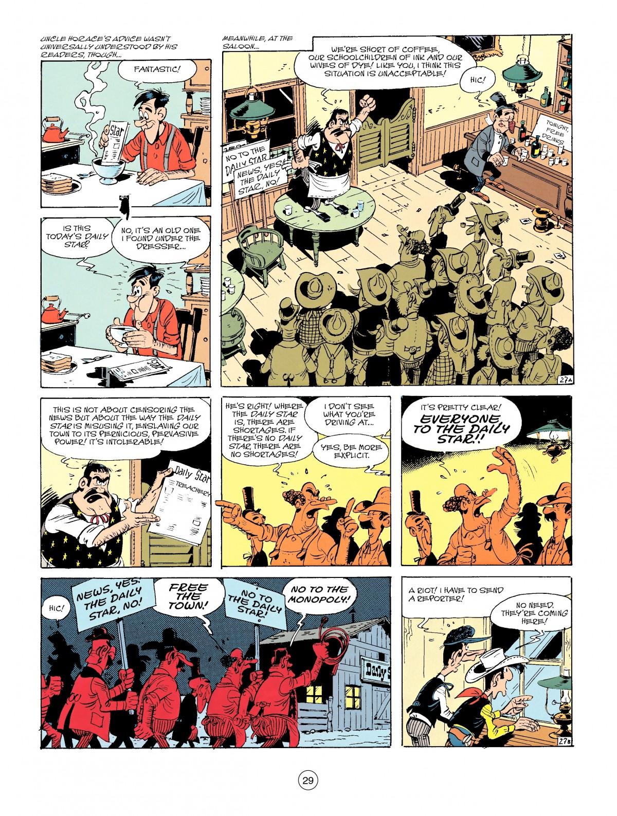 Read online A Lucky Luke Adventure comic -  Issue #41 - 29