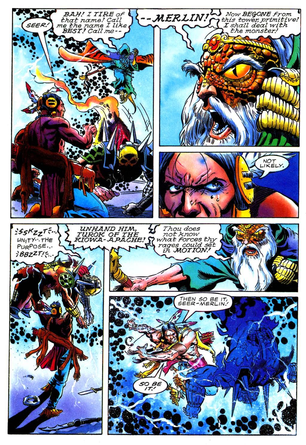 Read online Turok, Dinosaur Hunter (1993) comic -  Issue #27 - 19