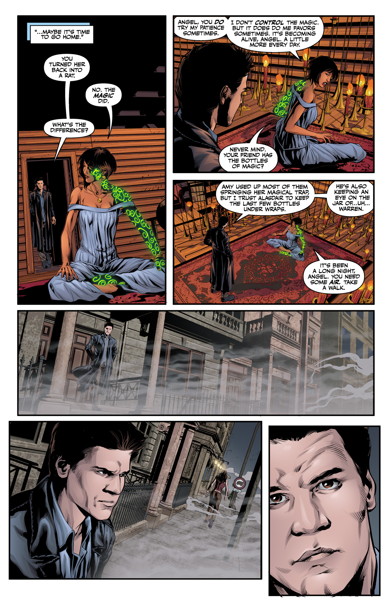 Read online Angel & Faith Season 10 comic -  Issue #10 - 23