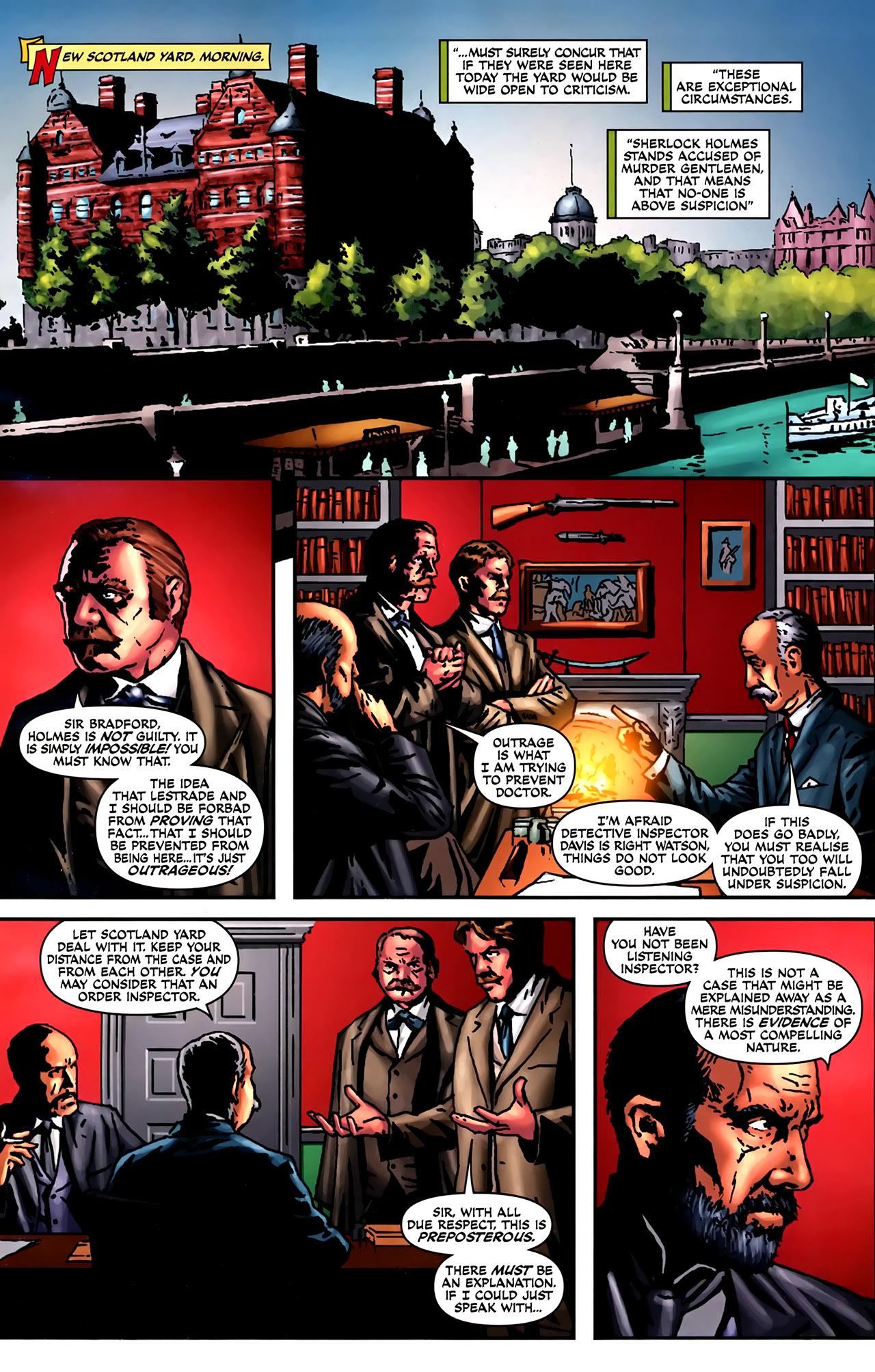 Read online Sherlock Holmes (2009) comic -  Issue #2 - 3