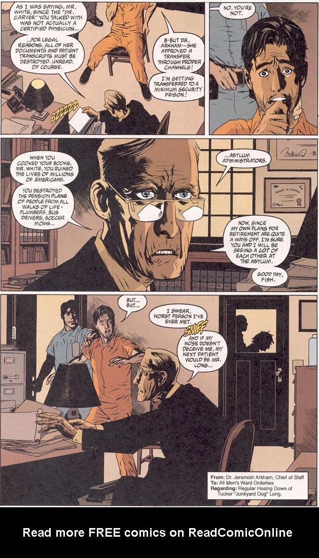 Read online Arkham Asylum: Living Hell comic -  Issue #2 - 7