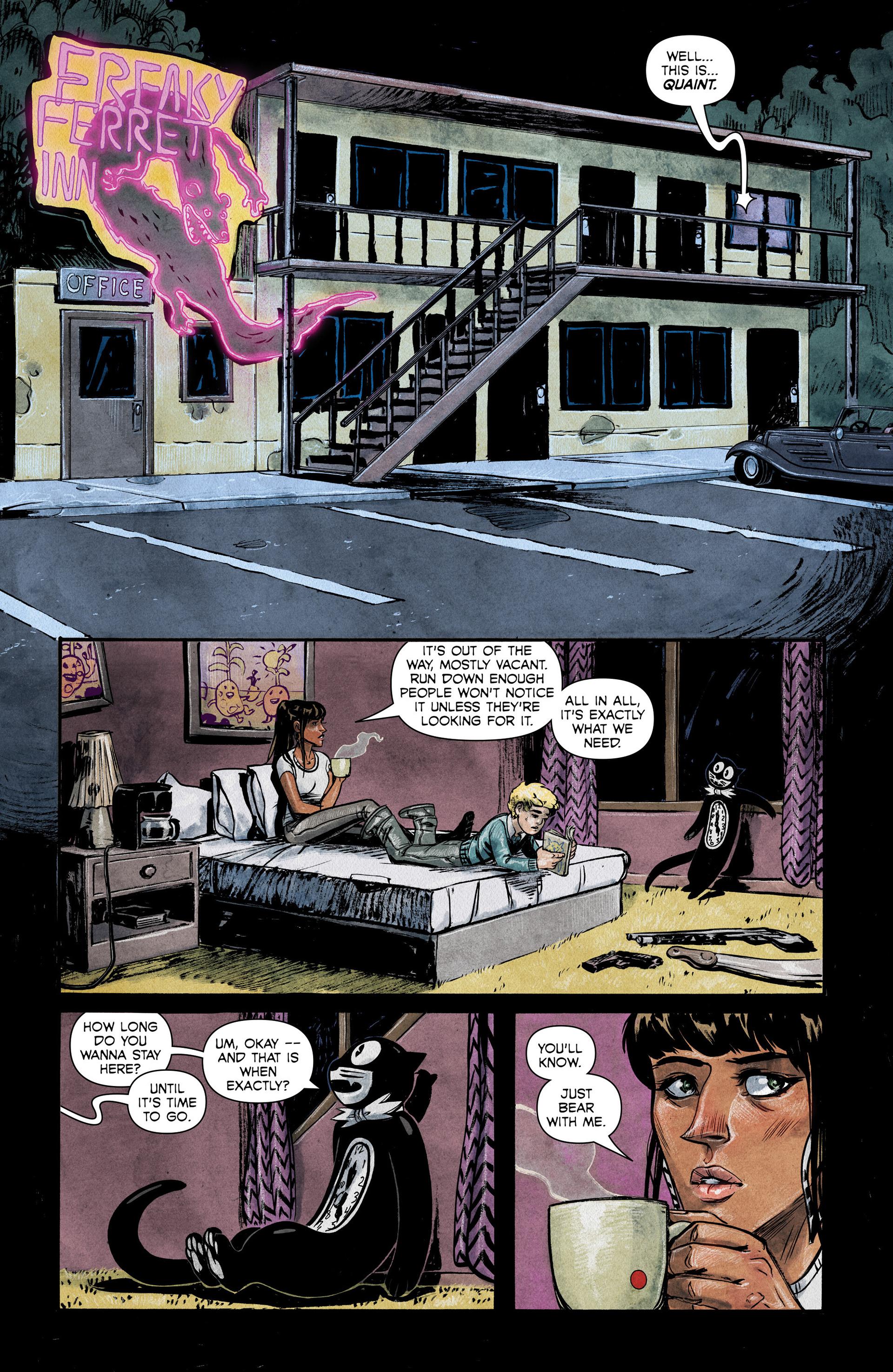 Read online Shutter comic -  Issue #6 - 8