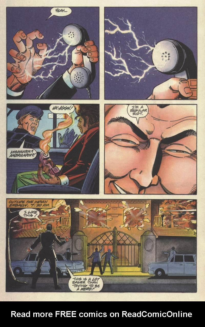 Read online Solar, Man of the Atom comic -  Issue #15 - 16