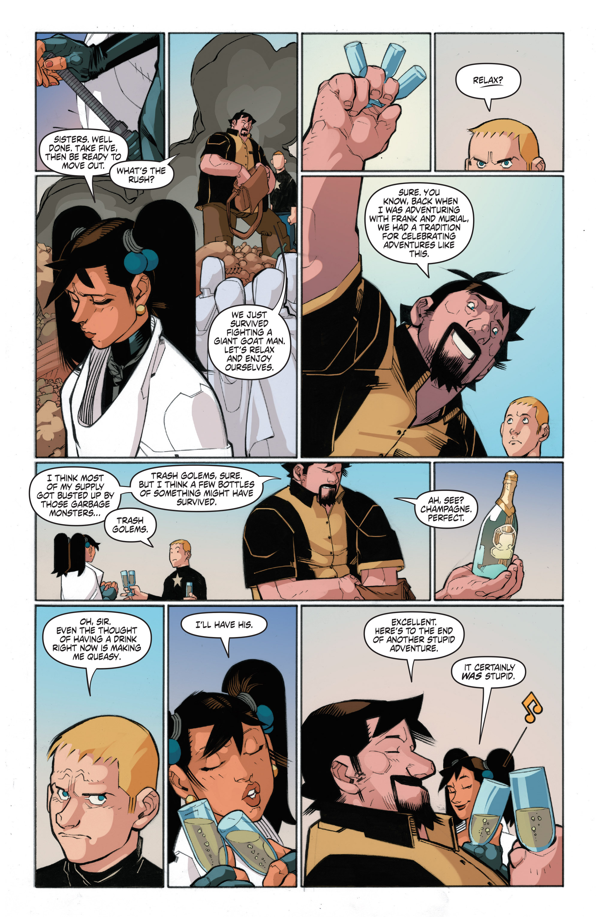 Read online A&A: The Adventures of Archer & Armstrong comic -  Issue #4 - 19