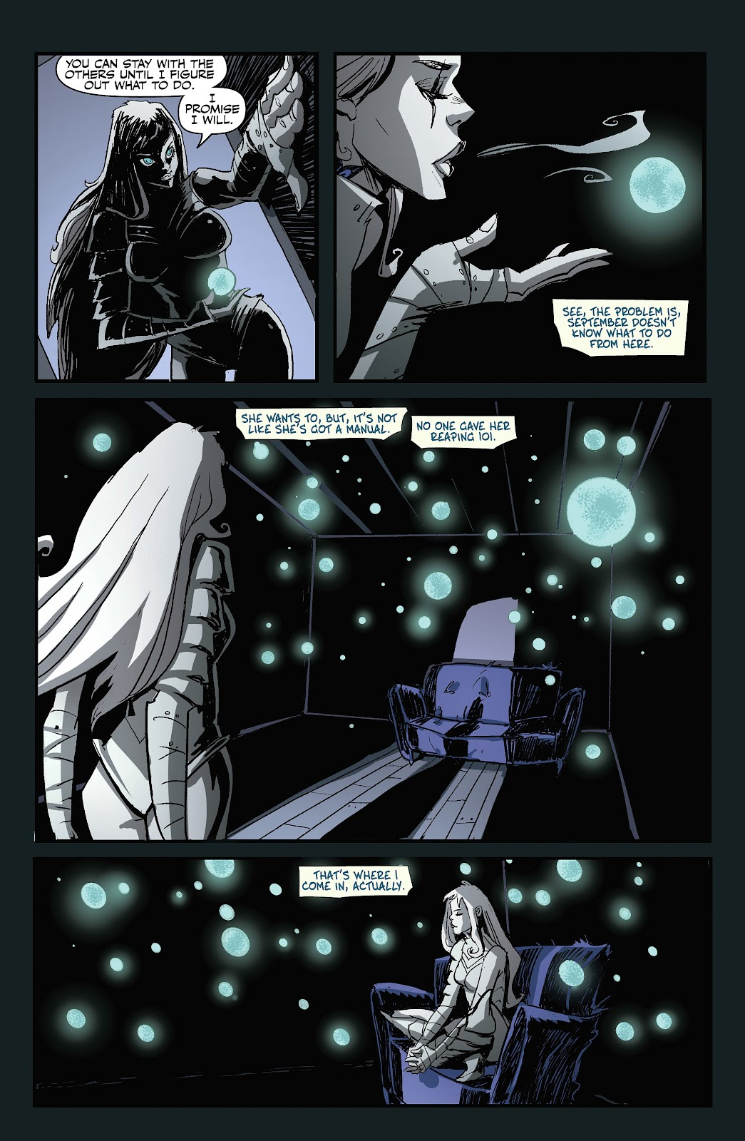 Read online September Mourning Volume 1 comic -  Issue #1 - 16