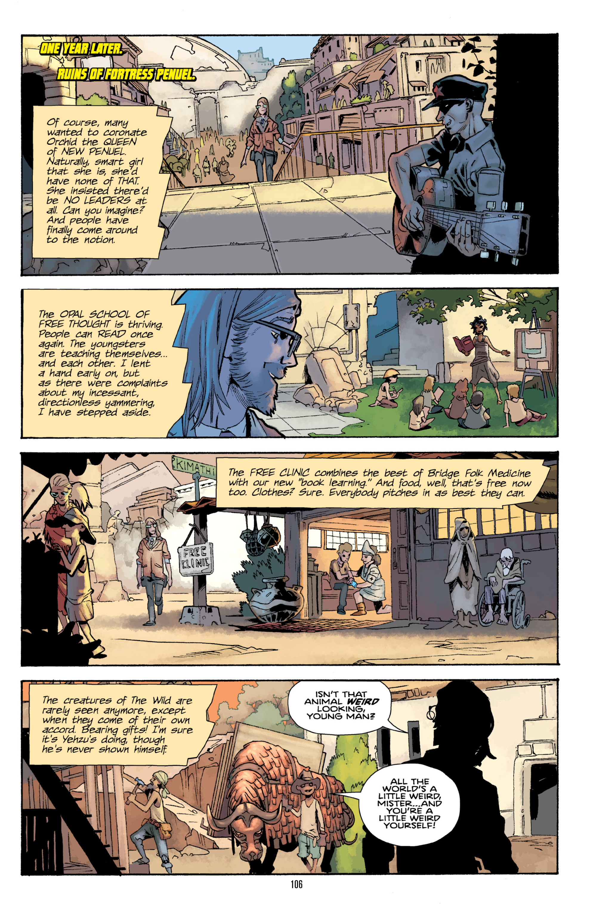 Read online Orchid comic -  Issue # TPB 3 - 103