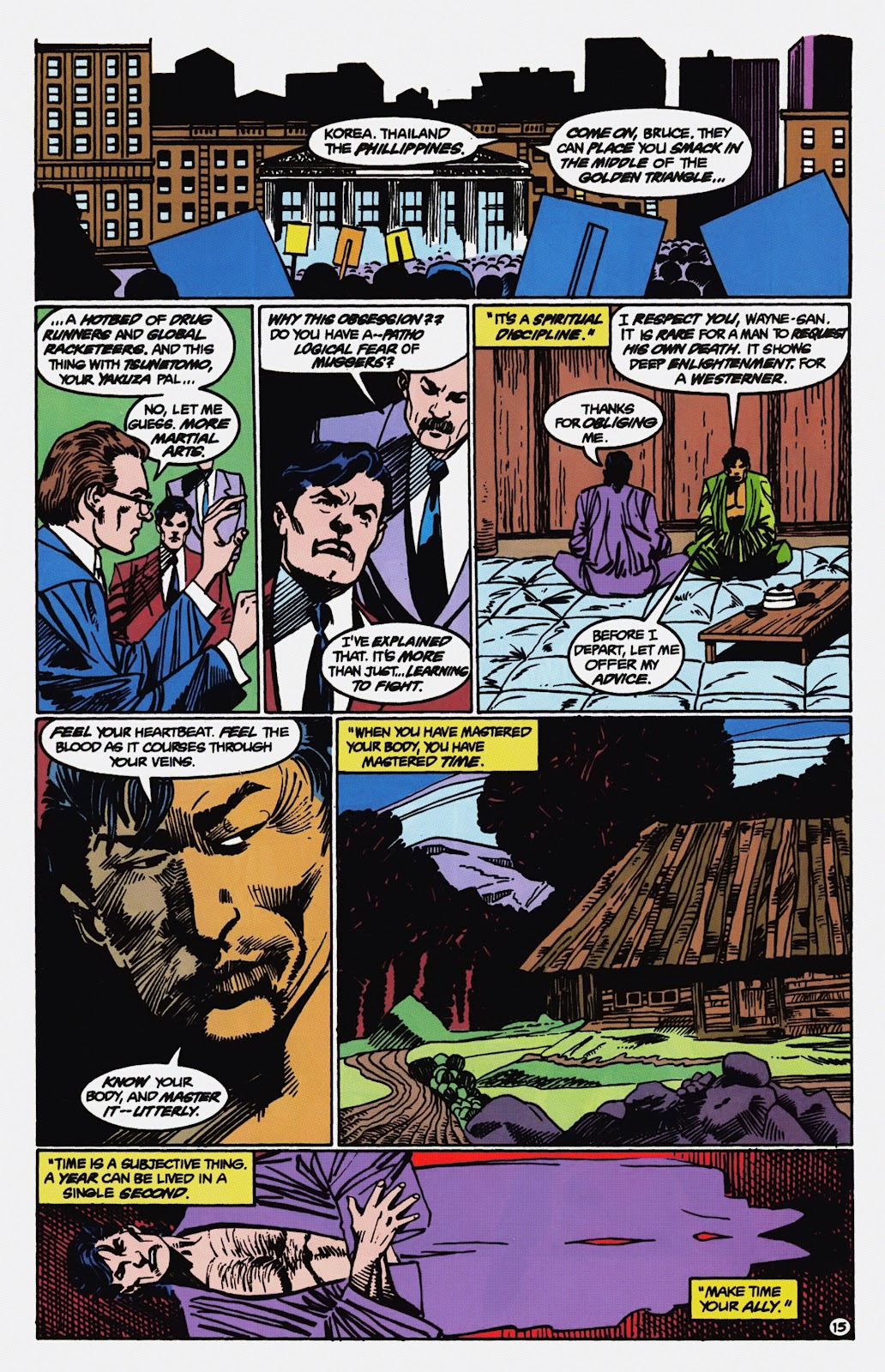 Read online Detective Comics (1937) comic -  Issue # _TPB Batman - Blind Justice (Part 1) - 80