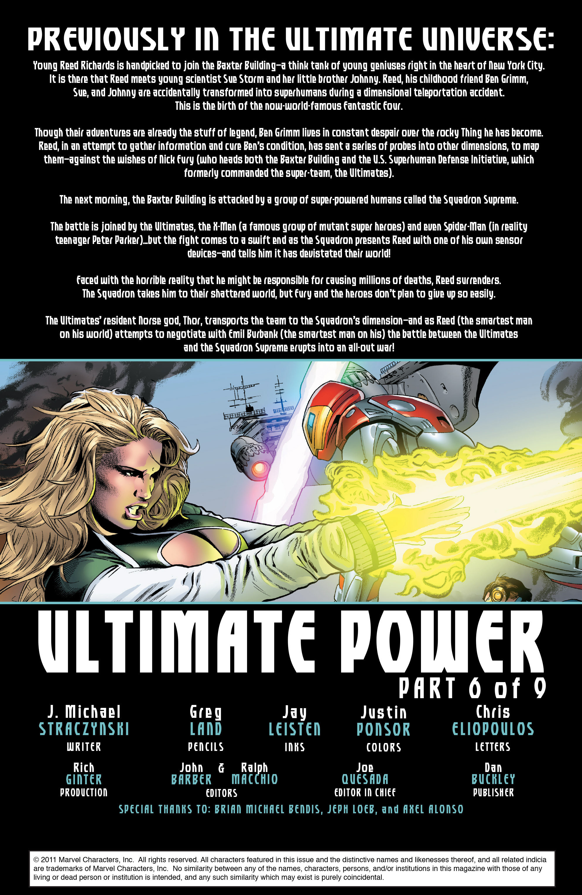 Read online Ultimate Power comic -  Issue #6 - 2