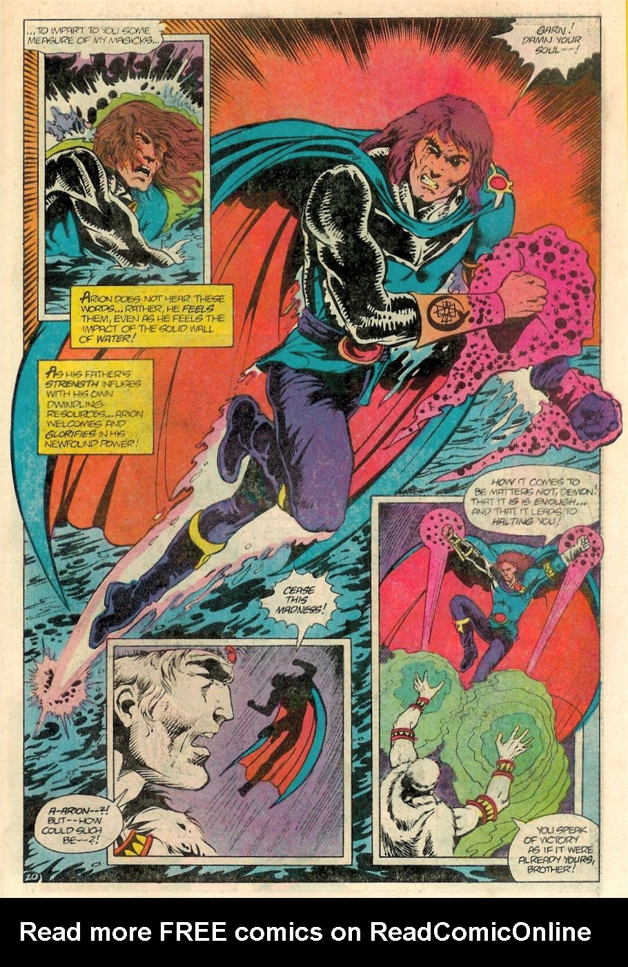 Read online Arion, Lord of Atlantis comic -  Issue #18 - 21